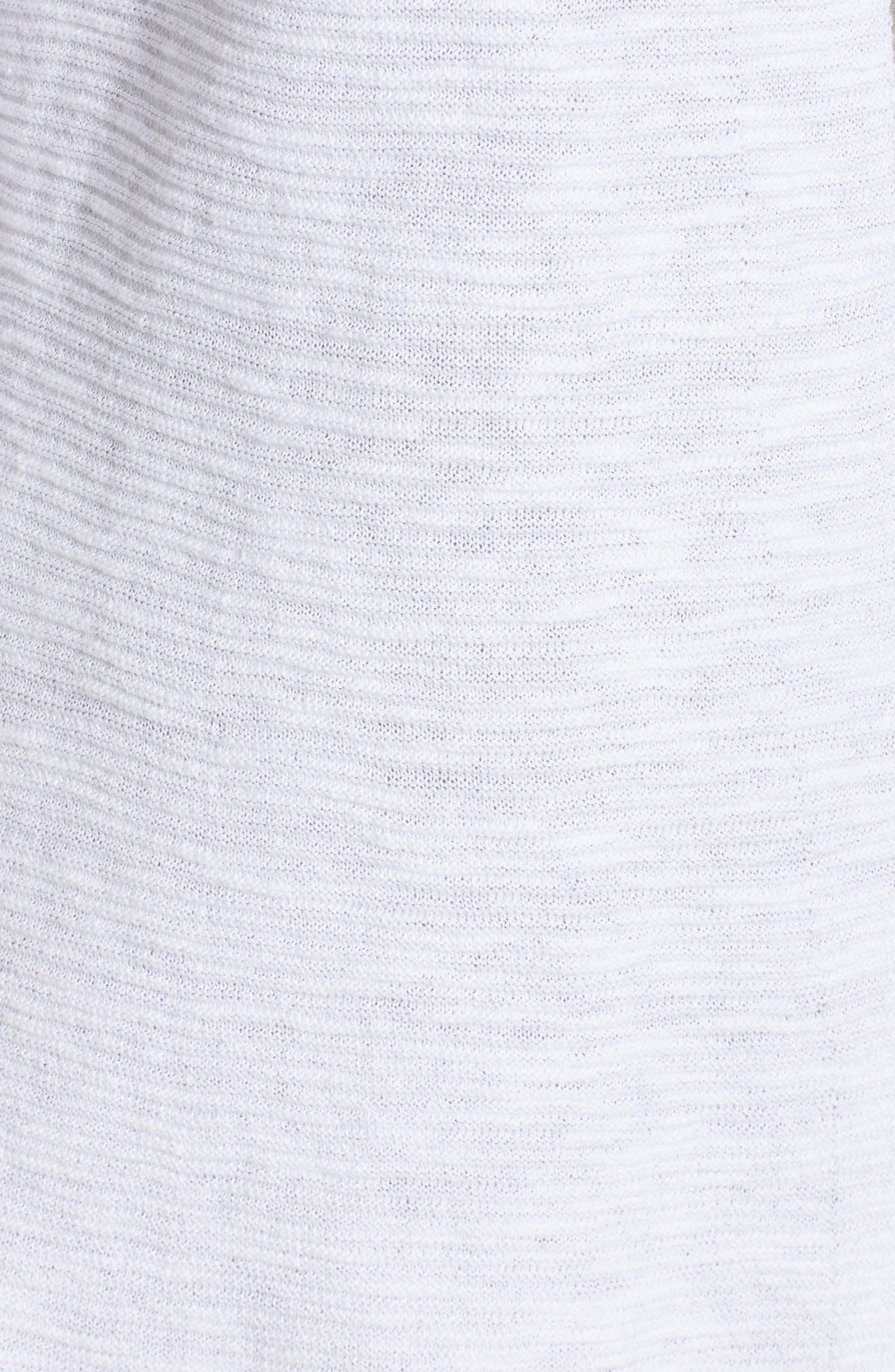 Simple Organic Linen & Cotton Cardigan,                             Alternate thumbnail 14, color,