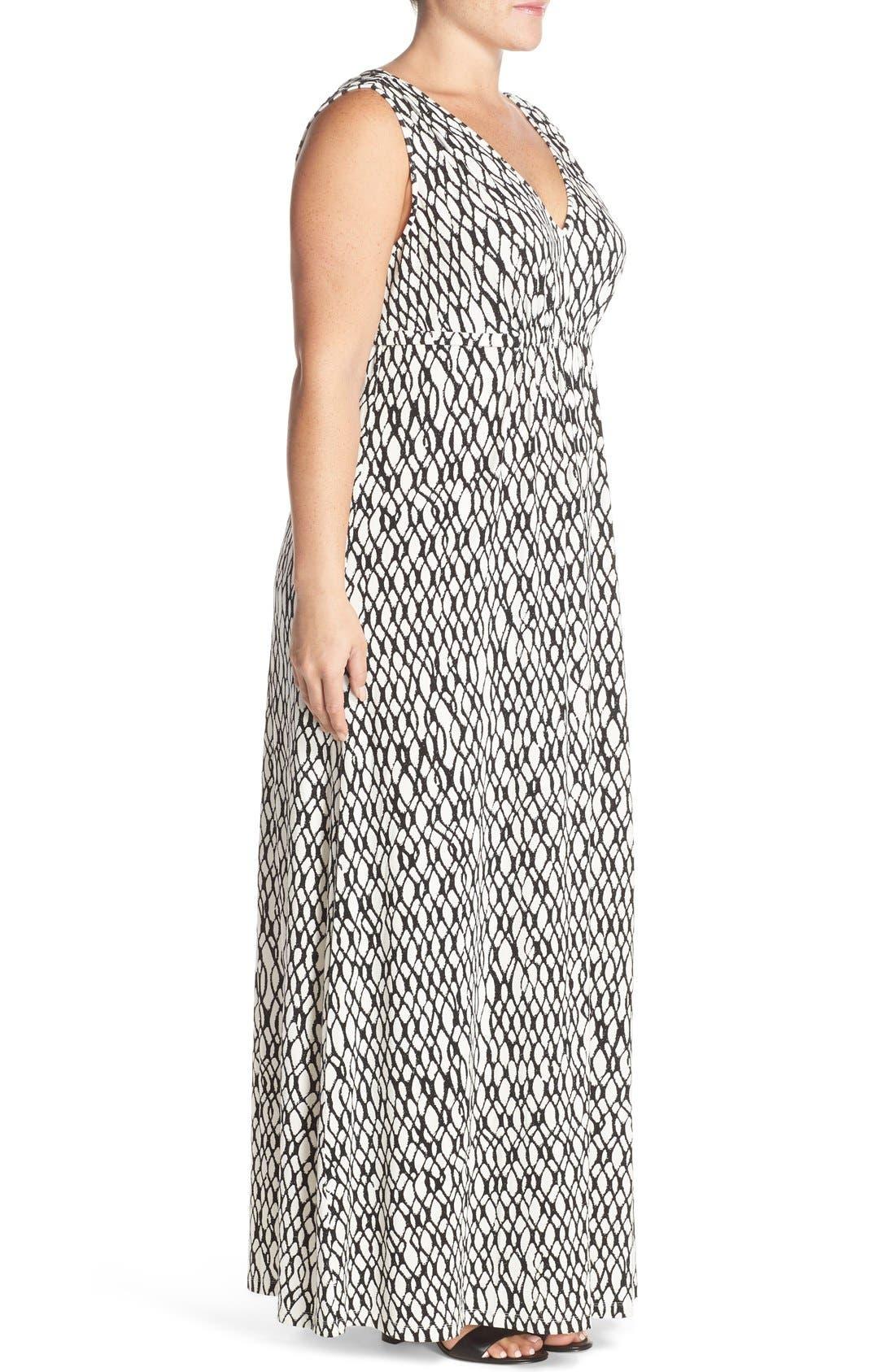Grecia Sleeveless Jersey Maxi Dress,                             Alternate thumbnail 32, color,