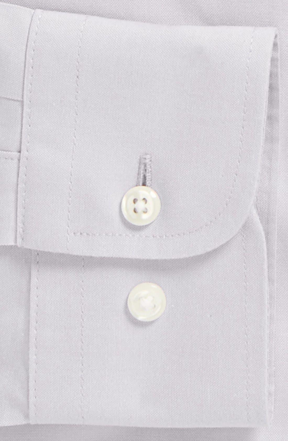 Smartcare<sup>™</sup> Trim Fit Solid Dress Shirt,                             Alternate thumbnail 26, color,