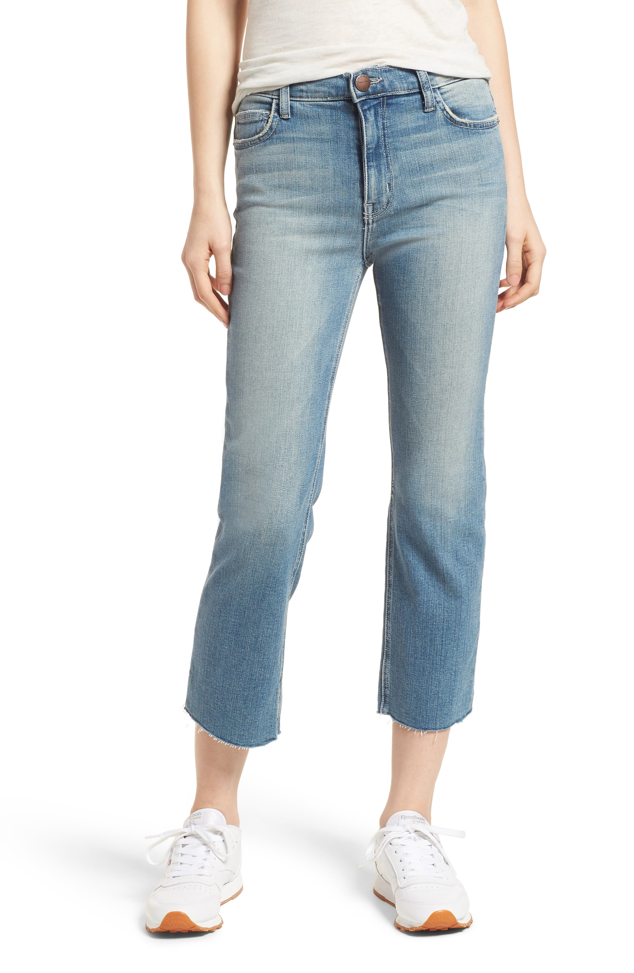 The High Waist Straight Jeans,                         Main,                         color, 475