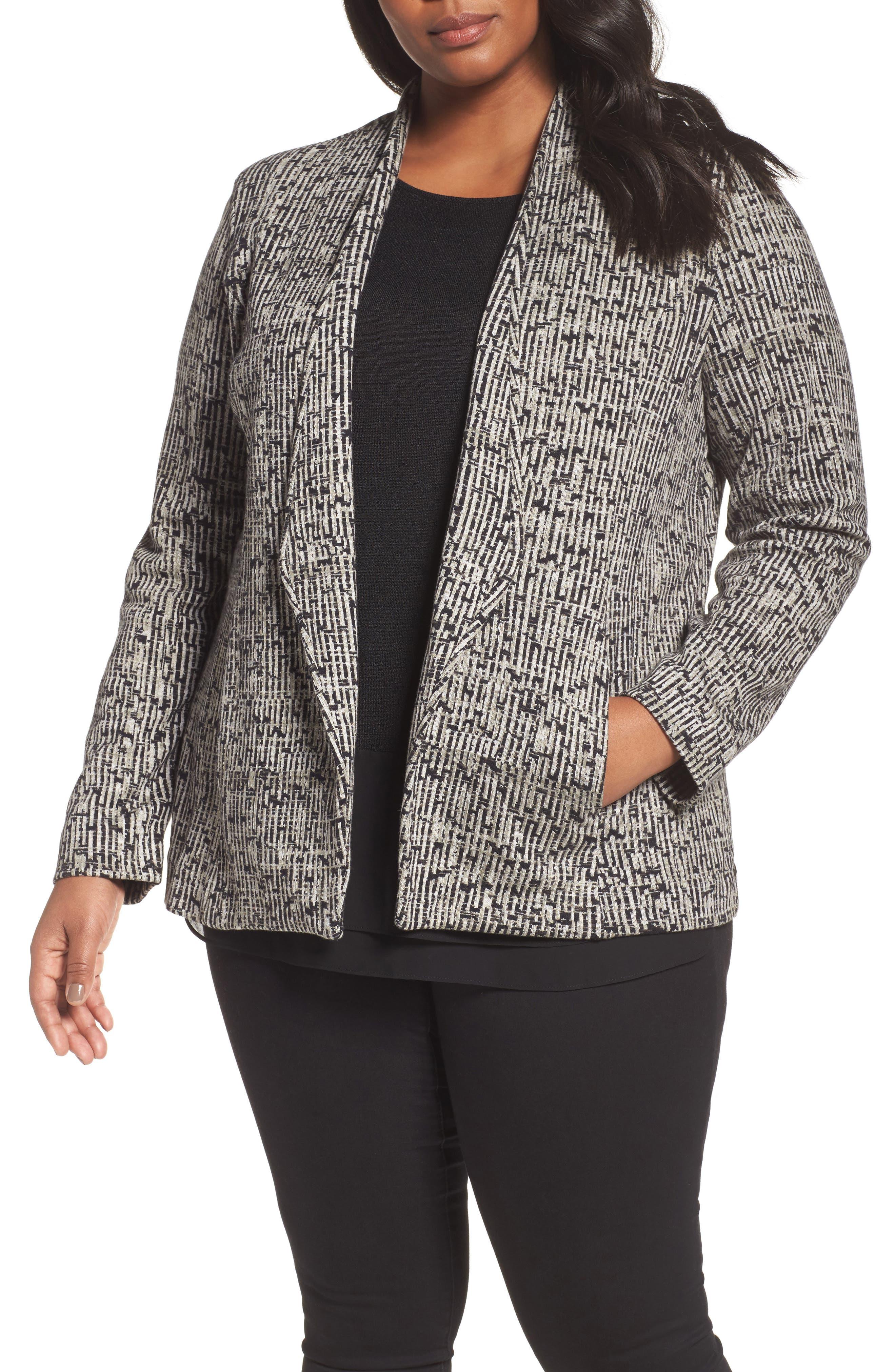 Trail Blazer Jacket,                         Main,                         color, BLACK MULTI