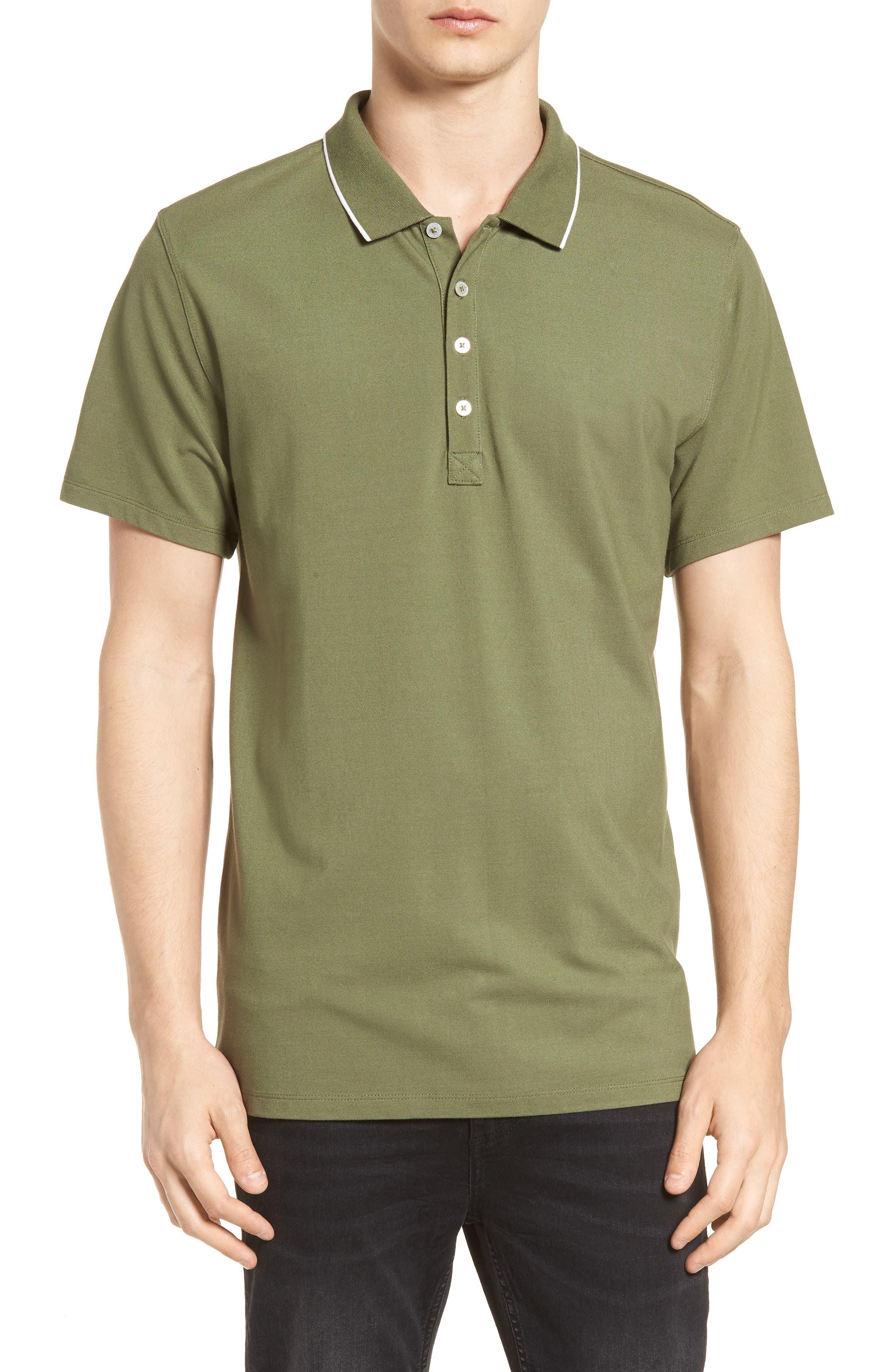 Premium Tipped Polo,                             Main thumbnail 1, color,                             310
