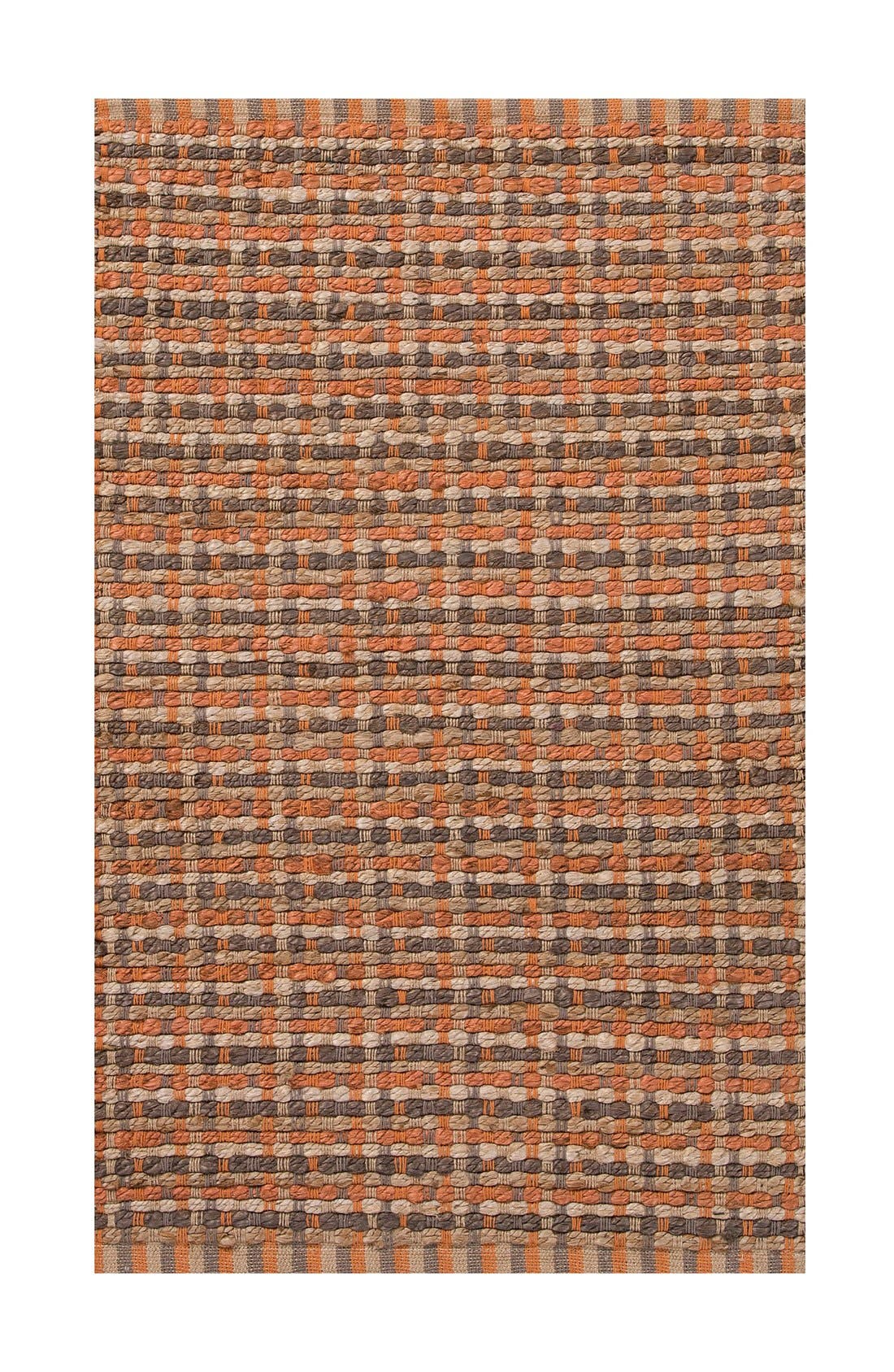 'Manchester' Jute & Cotton Accent Rug,                             Main thumbnail 1, color,                             800