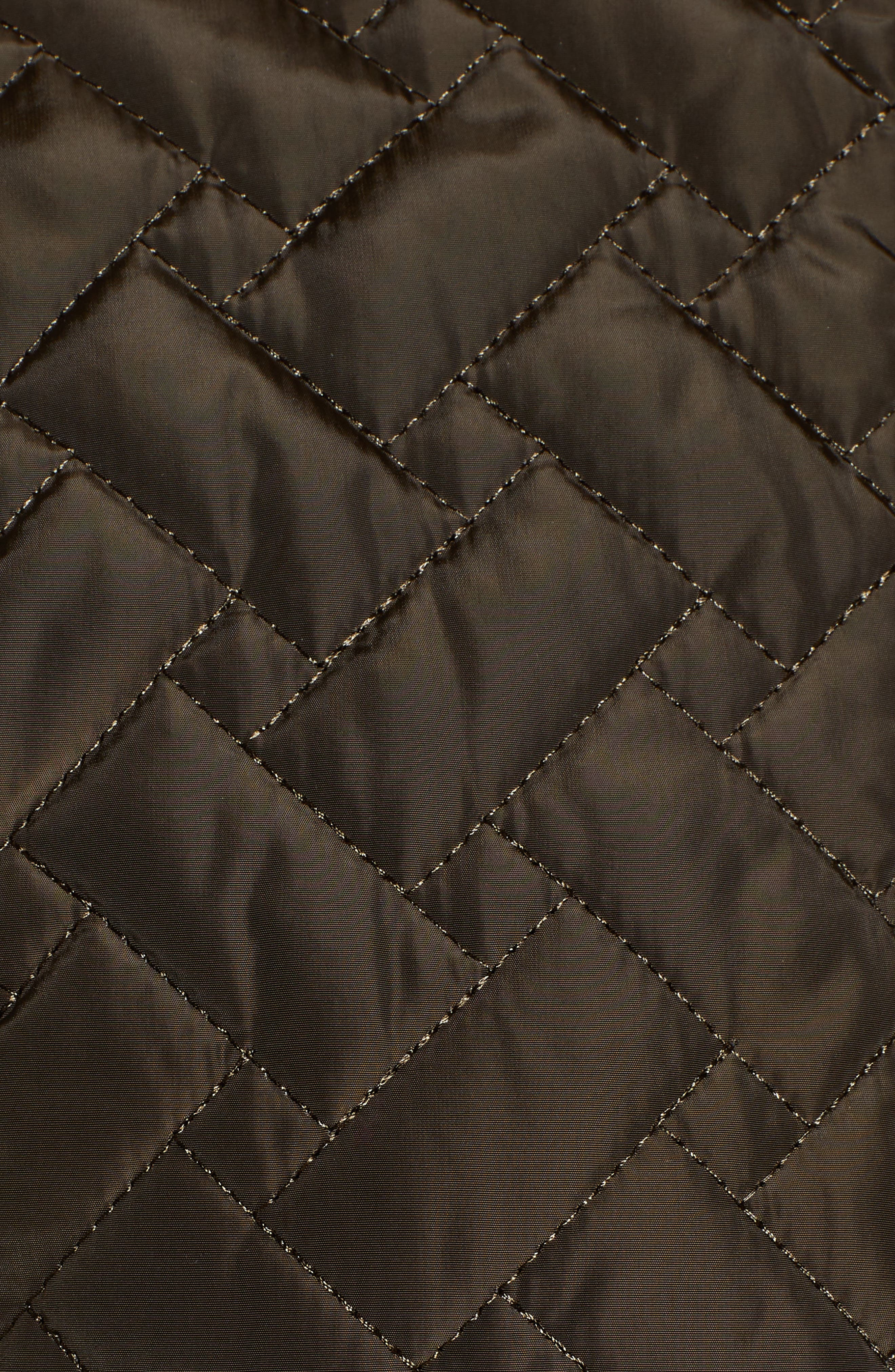 Belted Quilted Coat,                             Alternate thumbnail 33, color,