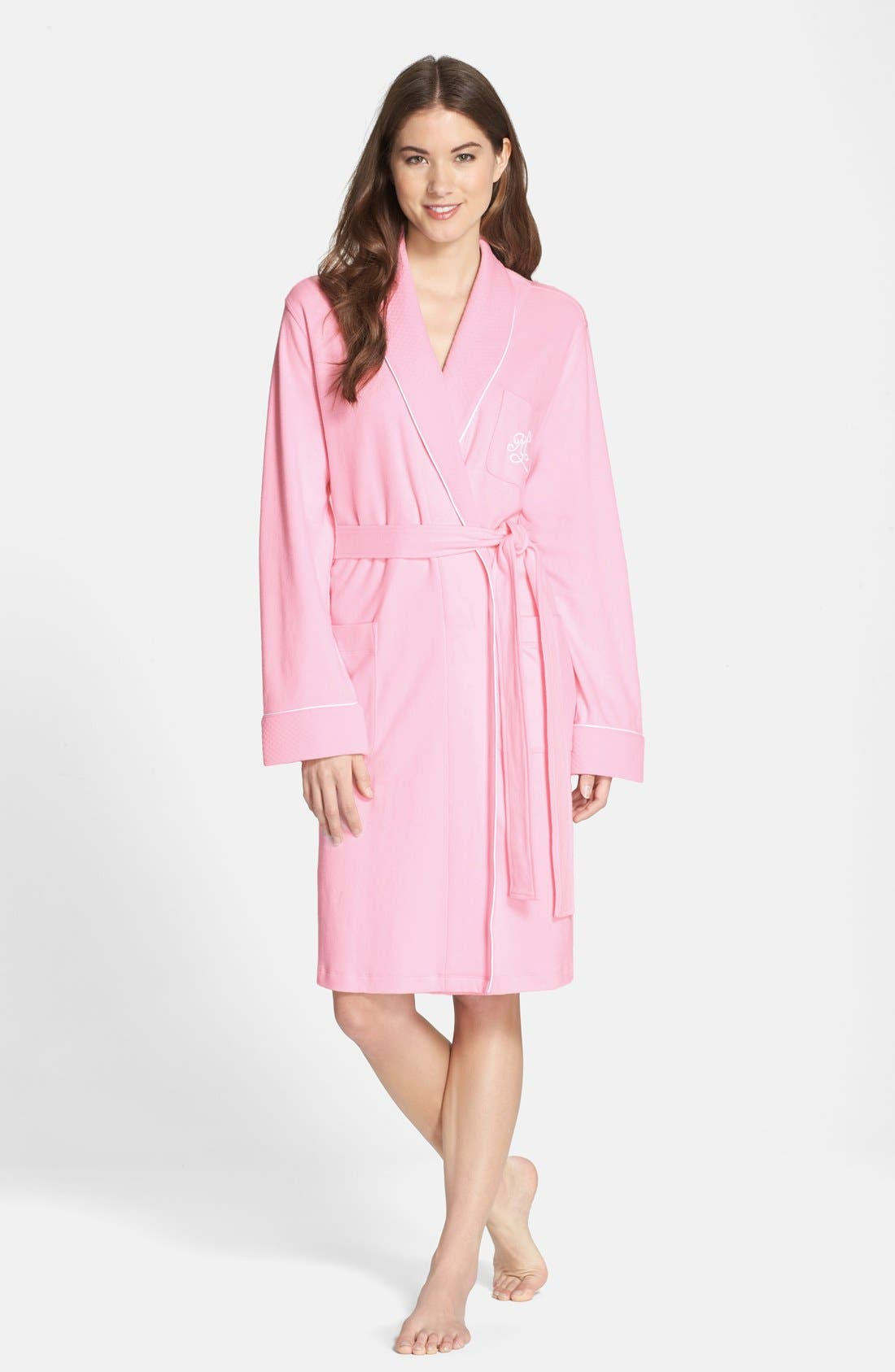 Quilted Collar Robe,                             Main thumbnail 15, color,