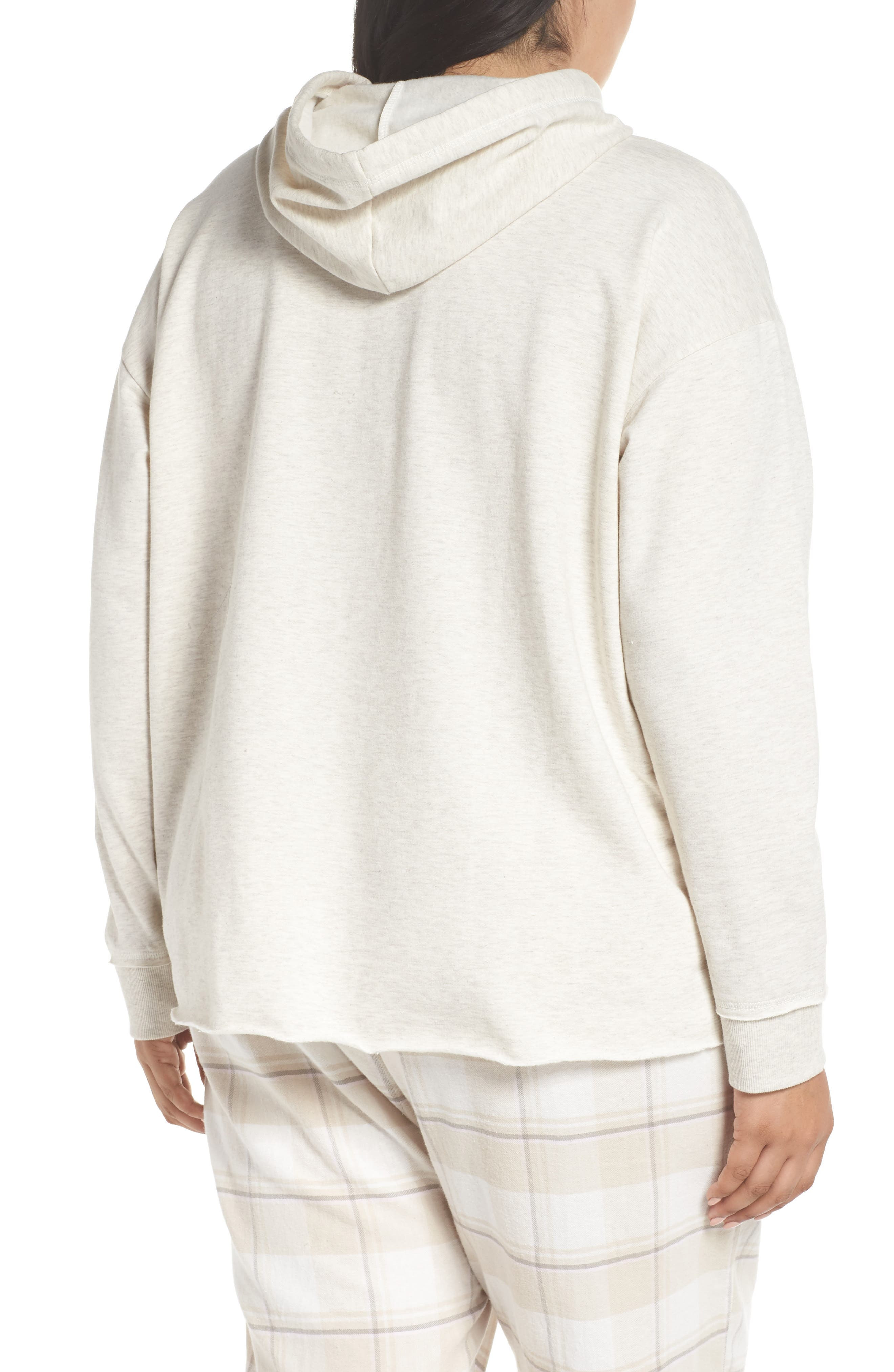 Imitation Pearl Embellished Hoodie,                             Alternate thumbnail 2, color,                             900