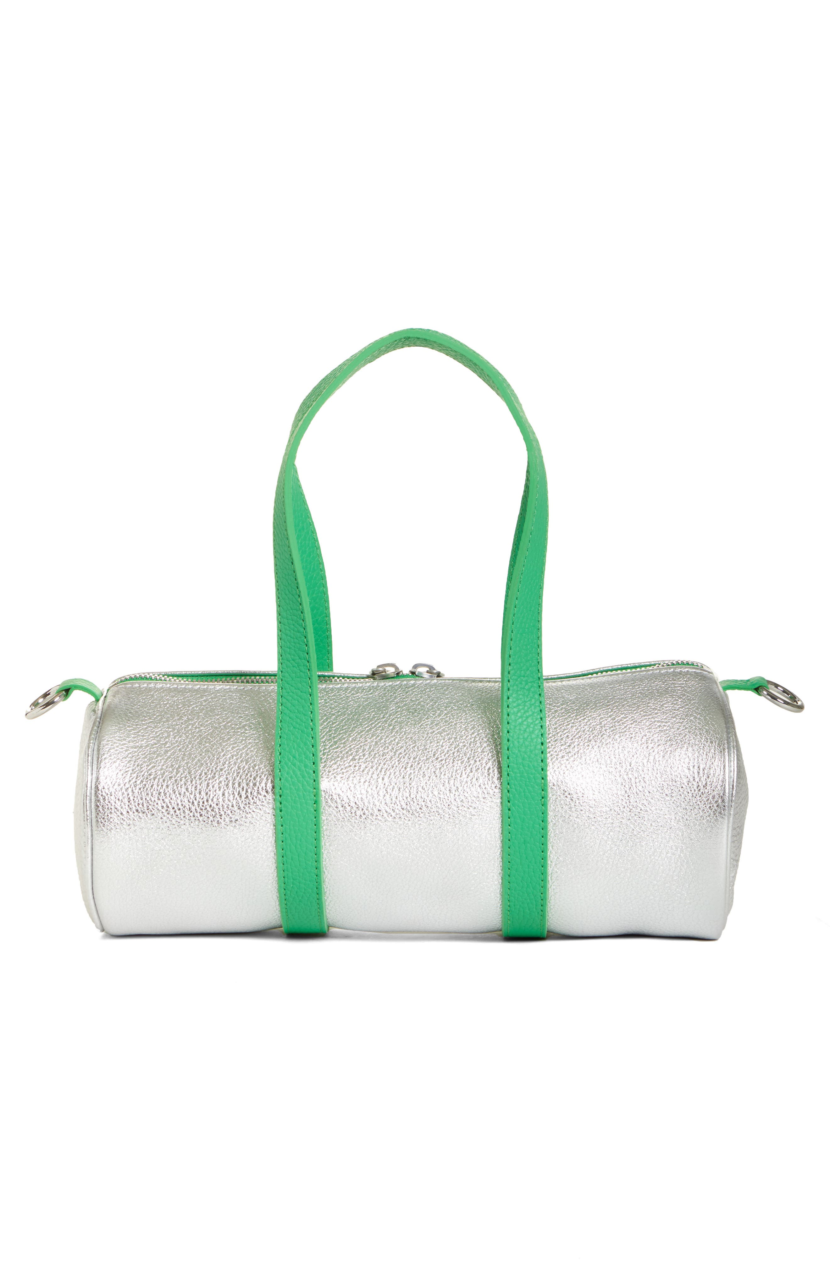 Mini Tool Kit Shoulder Bag,                             Alternate thumbnail 3, color,                             TIN FOIL