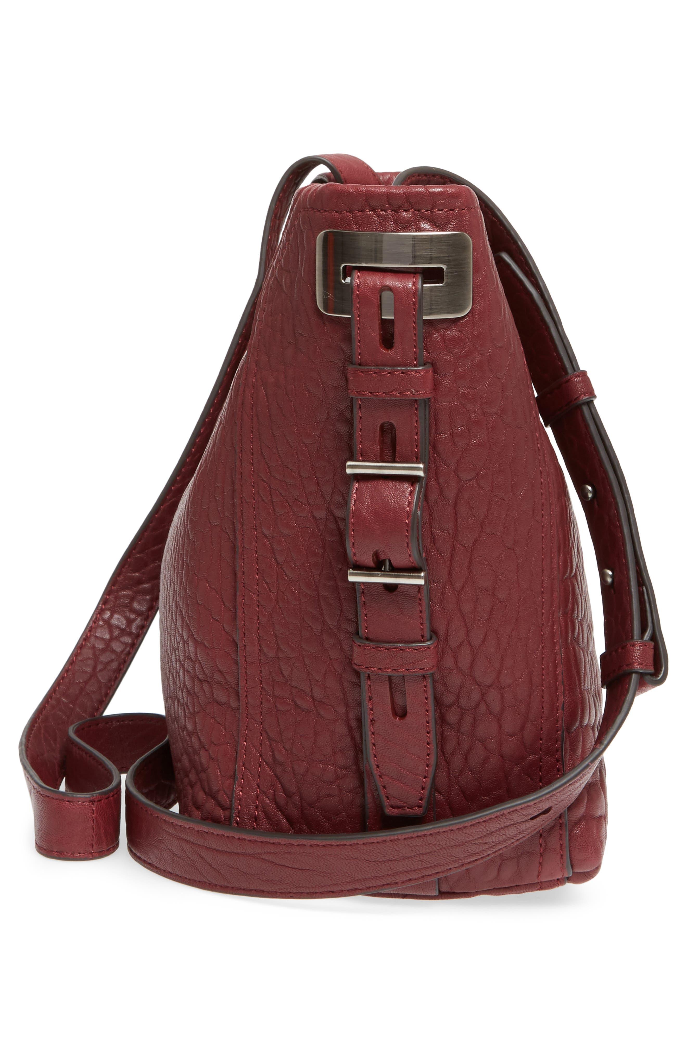 Fava Leather Bucket Bag,                             Alternate thumbnail 15, color,