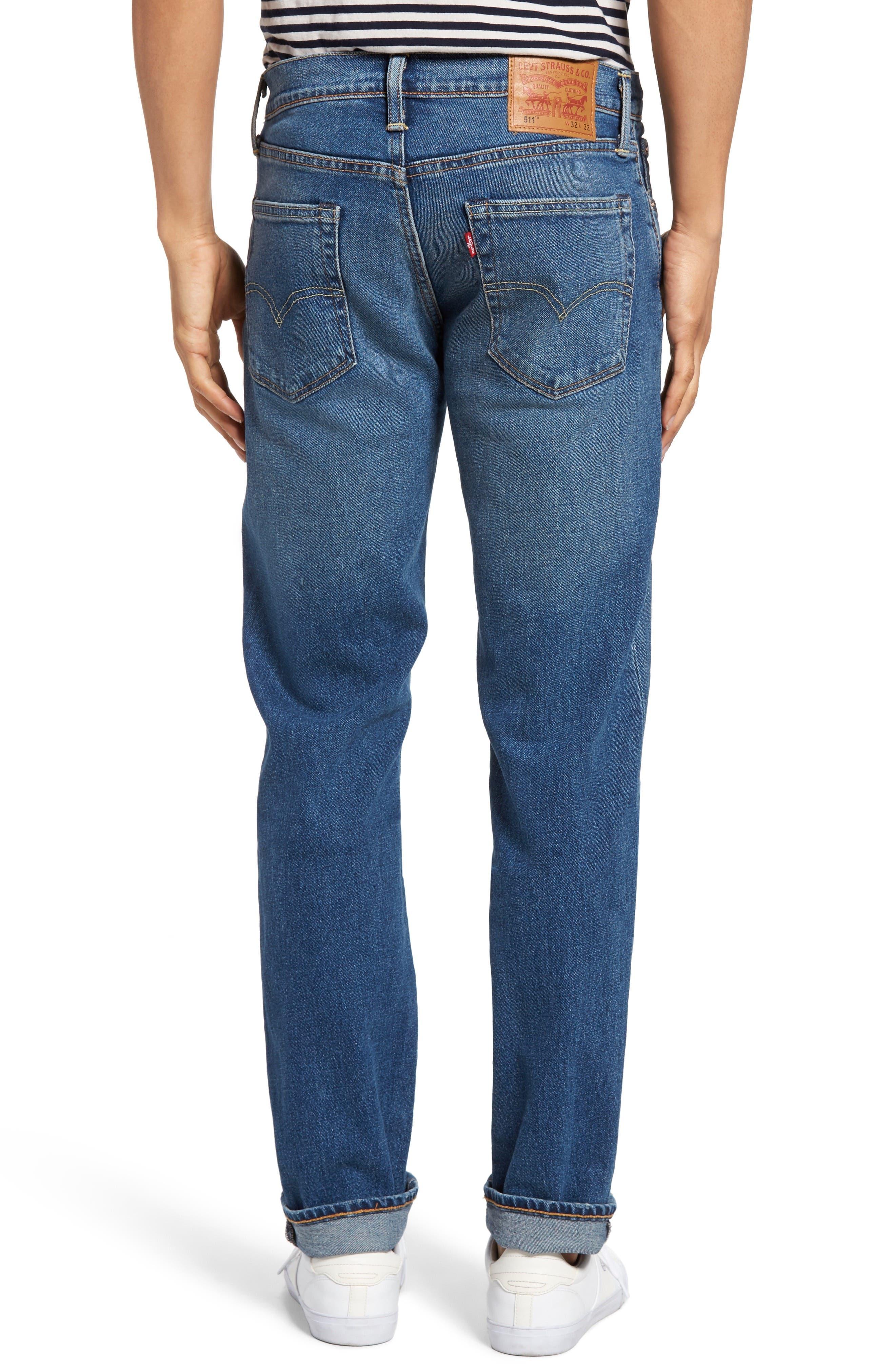 511<sup>™</sup> Slim Fit Jeans,                             Alternate thumbnail 2, color,                             401