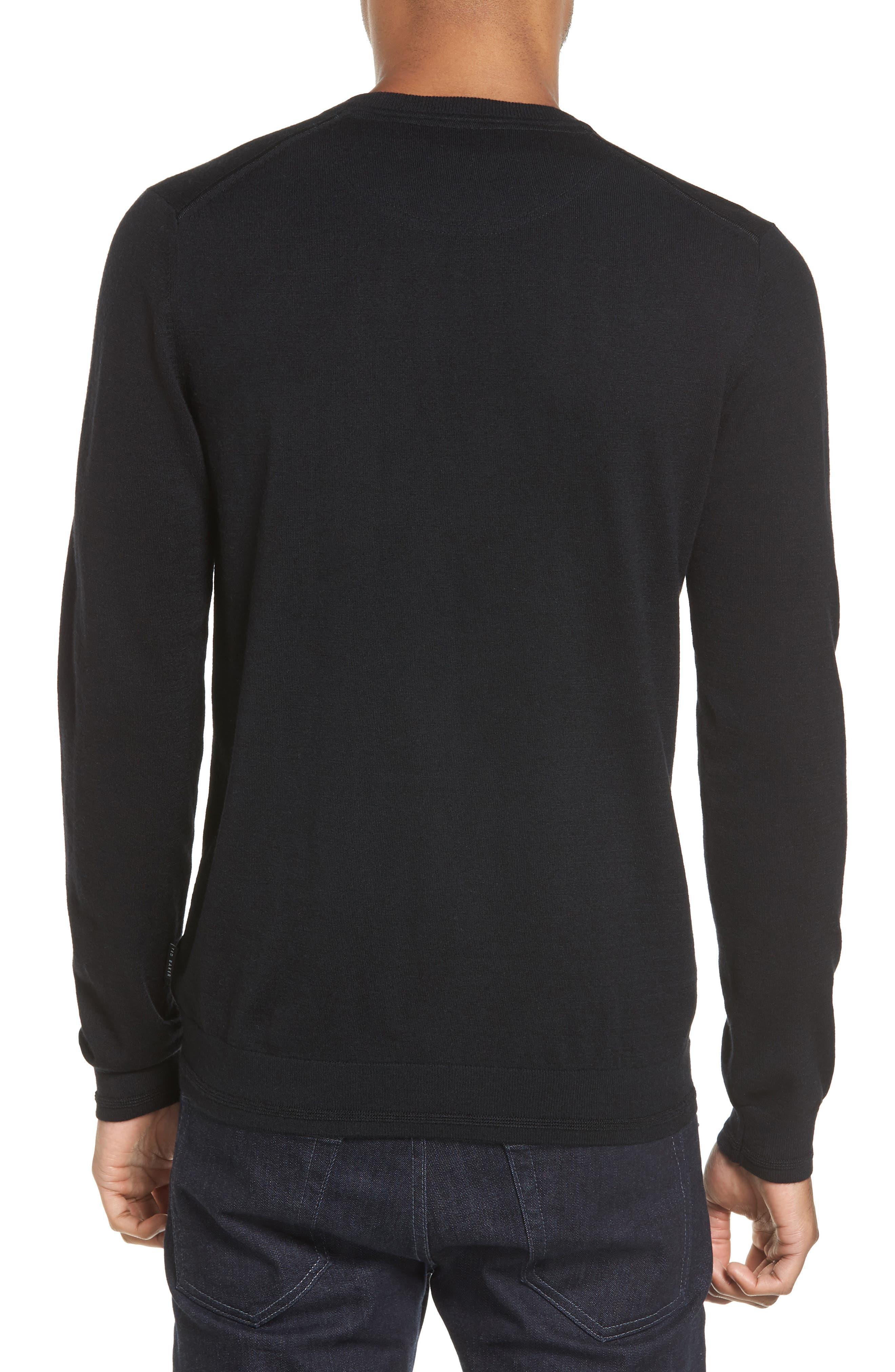 V-Neck Sweater,                             Alternate thumbnail 5, color,
