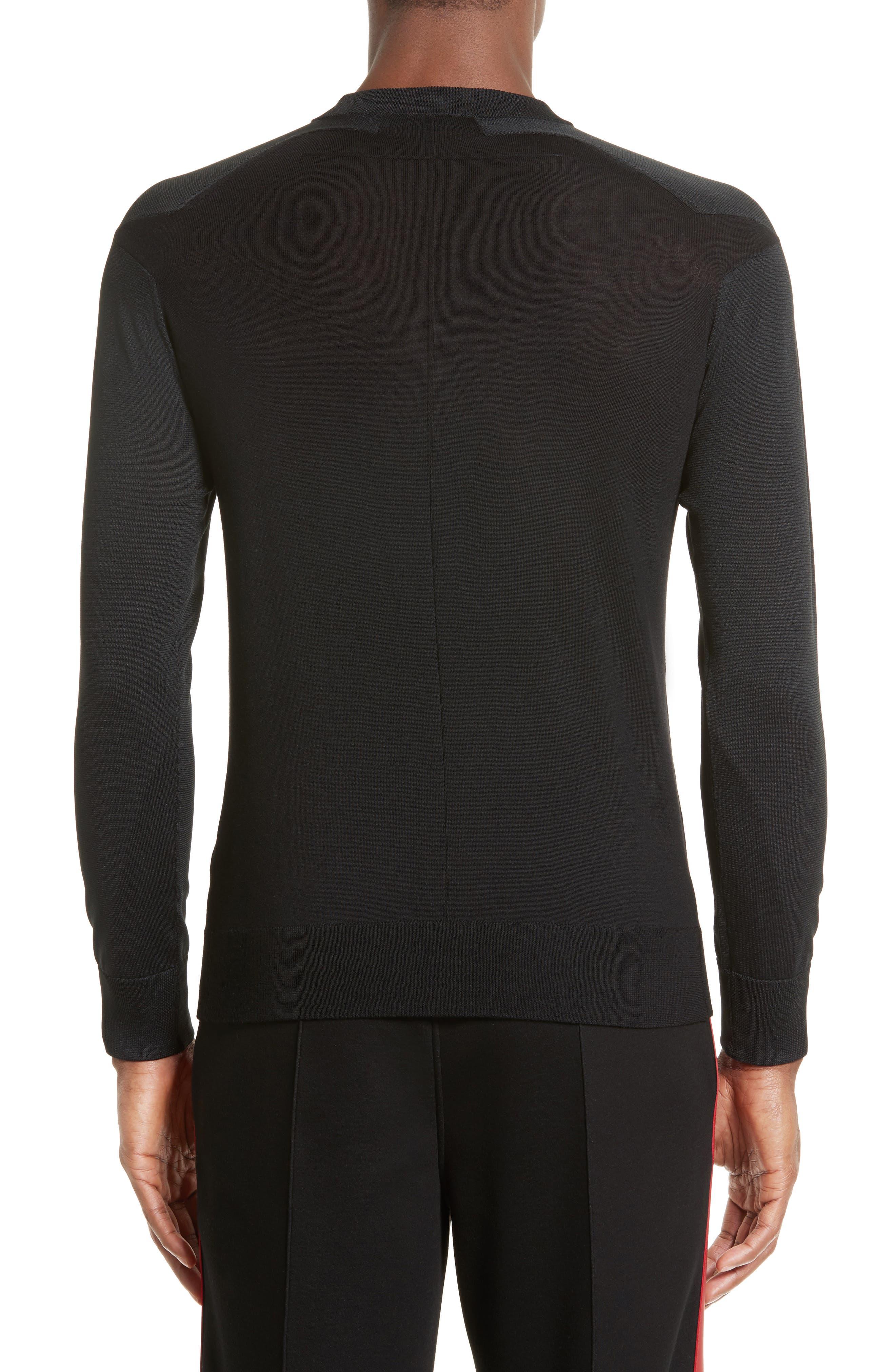 Star Shoulder Sweater,                             Alternate thumbnail 2, color,                             001