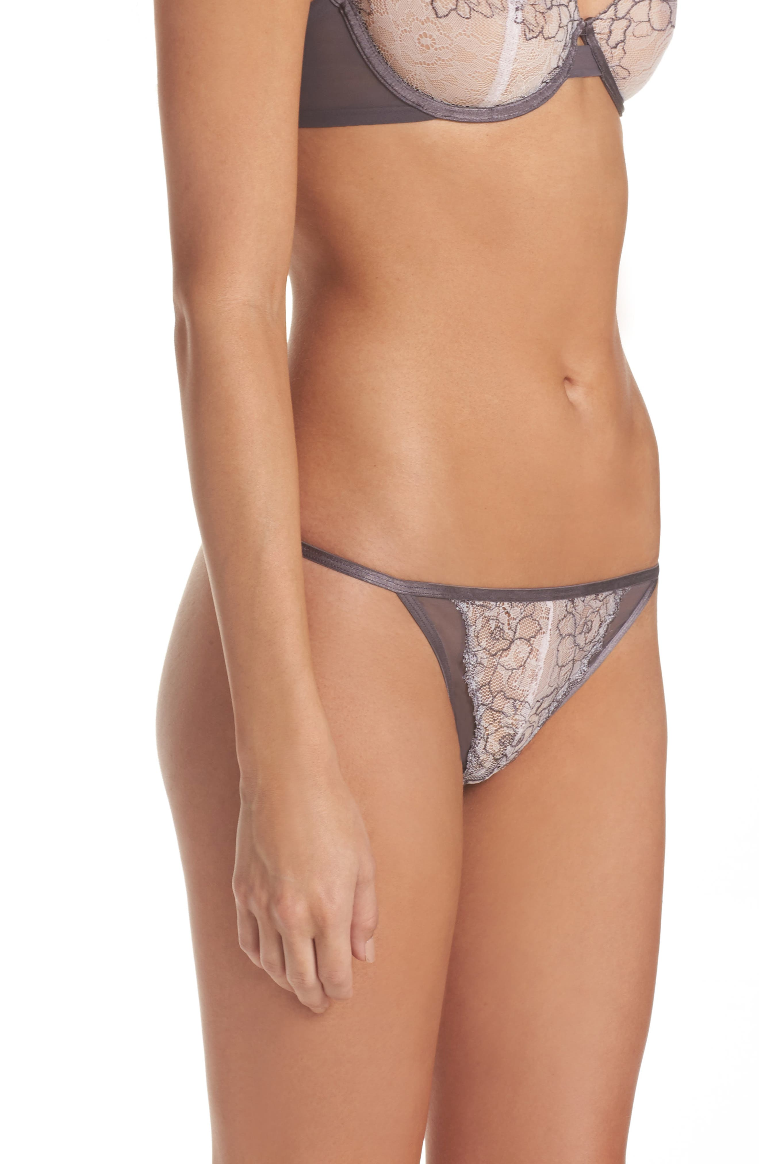 Condesa Thong,                             Alternate thumbnail 3, color,                             001