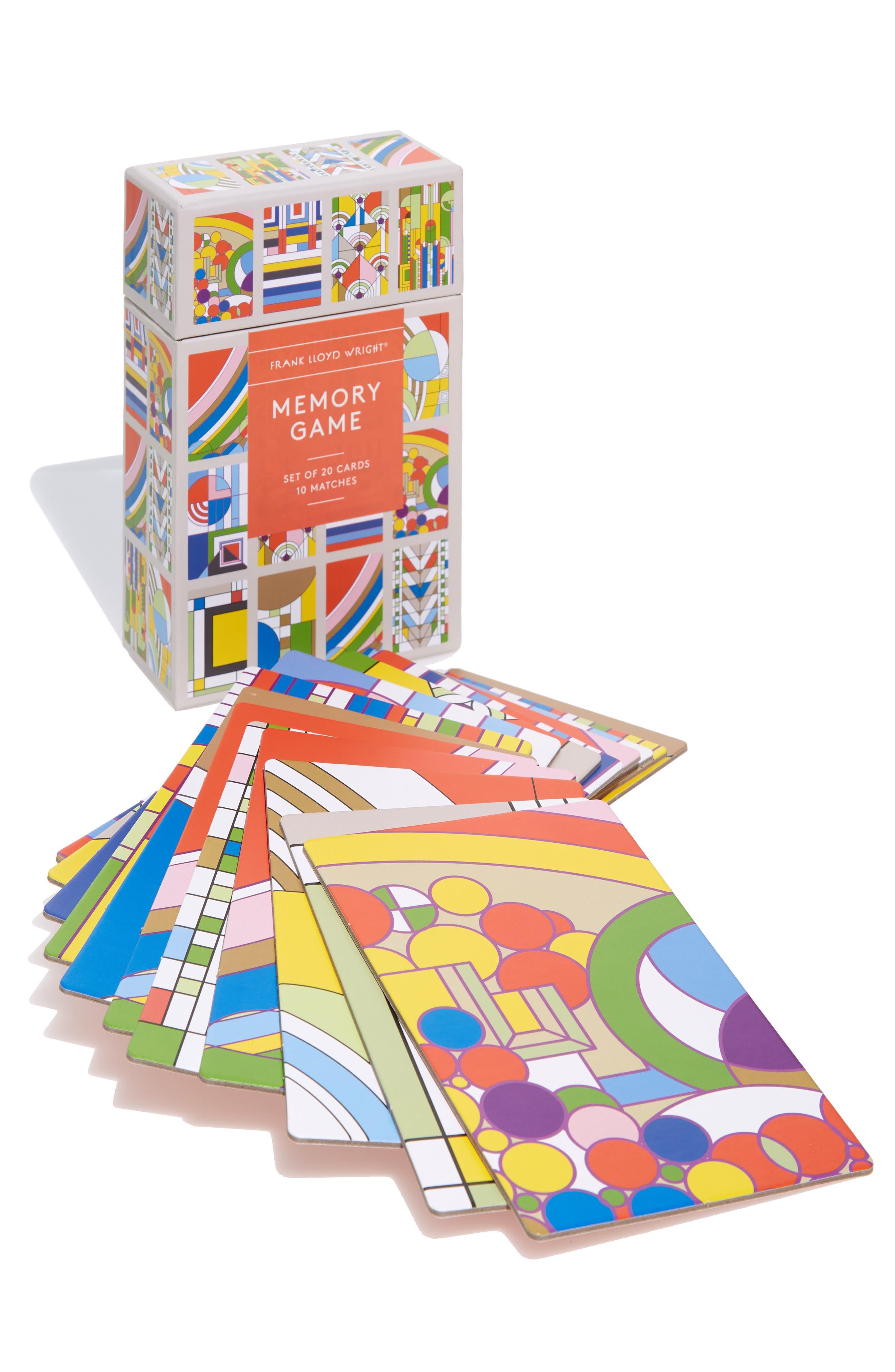 Frank Lloyd Wright Memory Game,                             Main thumbnail 1, color,                             MULTI
