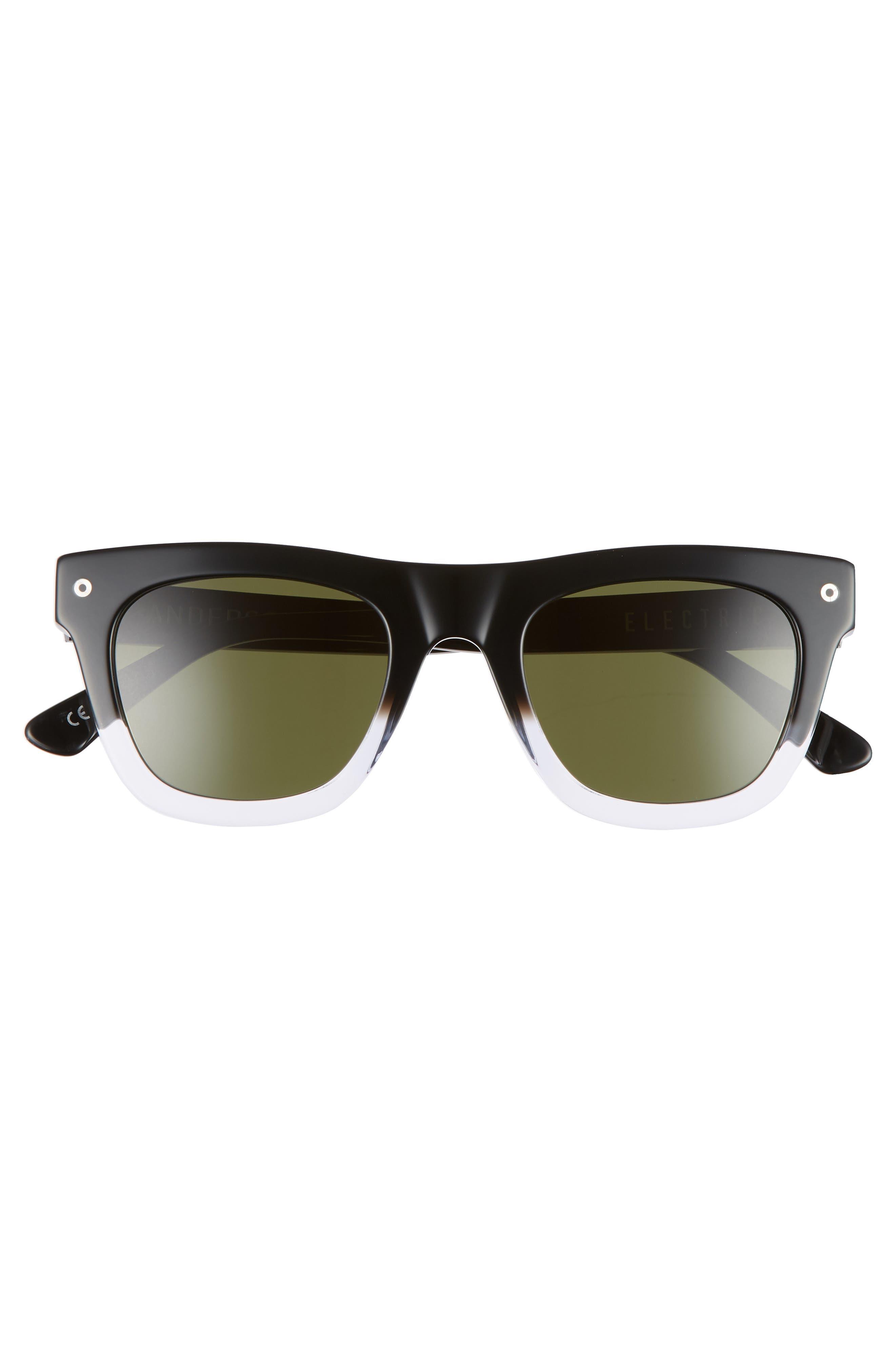 Andersen 49mm Sunglasses,                             Alternate thumbnail 3, color,                             BLACK CLEAR FADE/ GREY