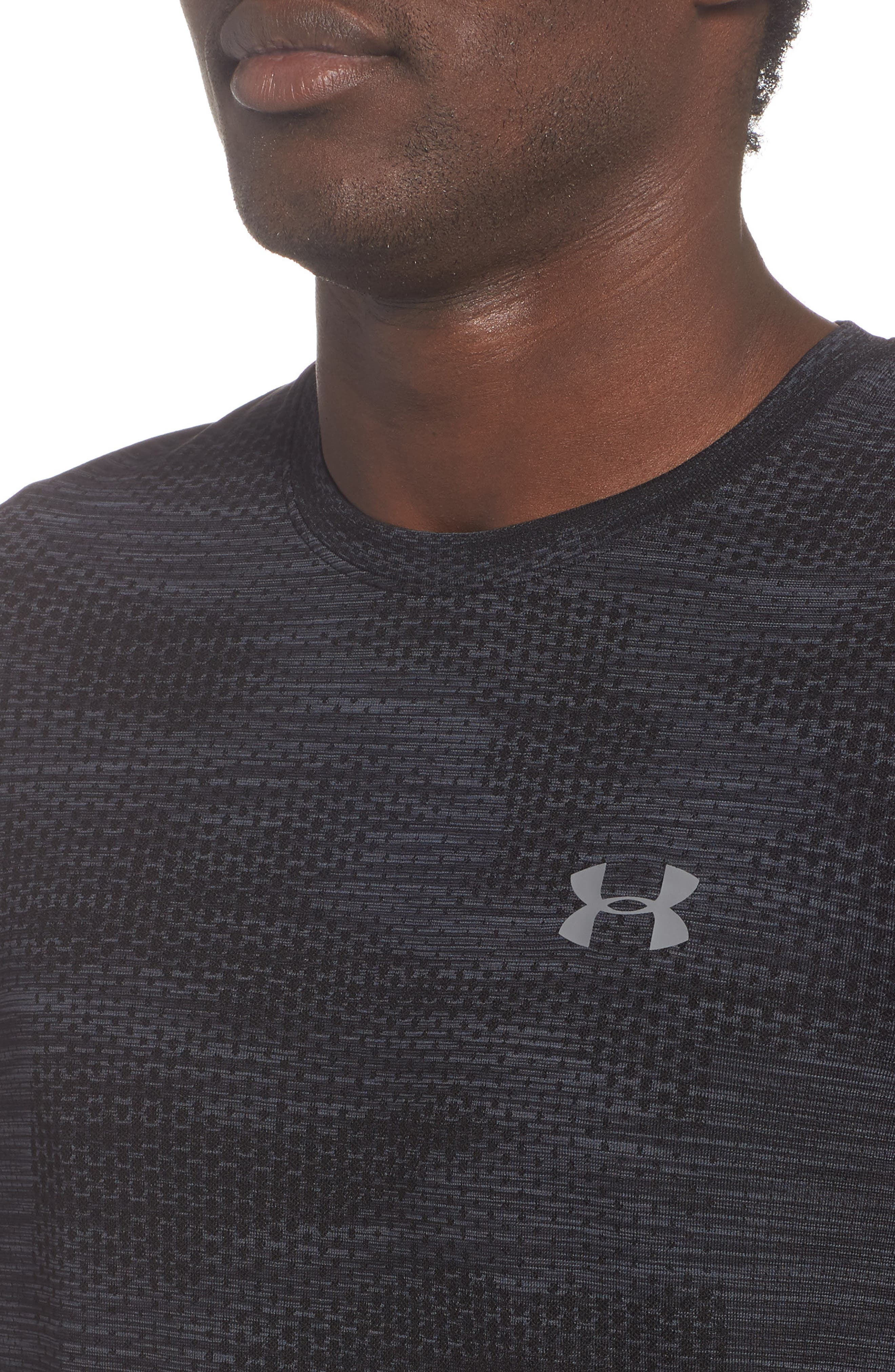 Siphon Long Sleeve Camo T-Shirt,                             Alternate thumbnail 4, color,                             001