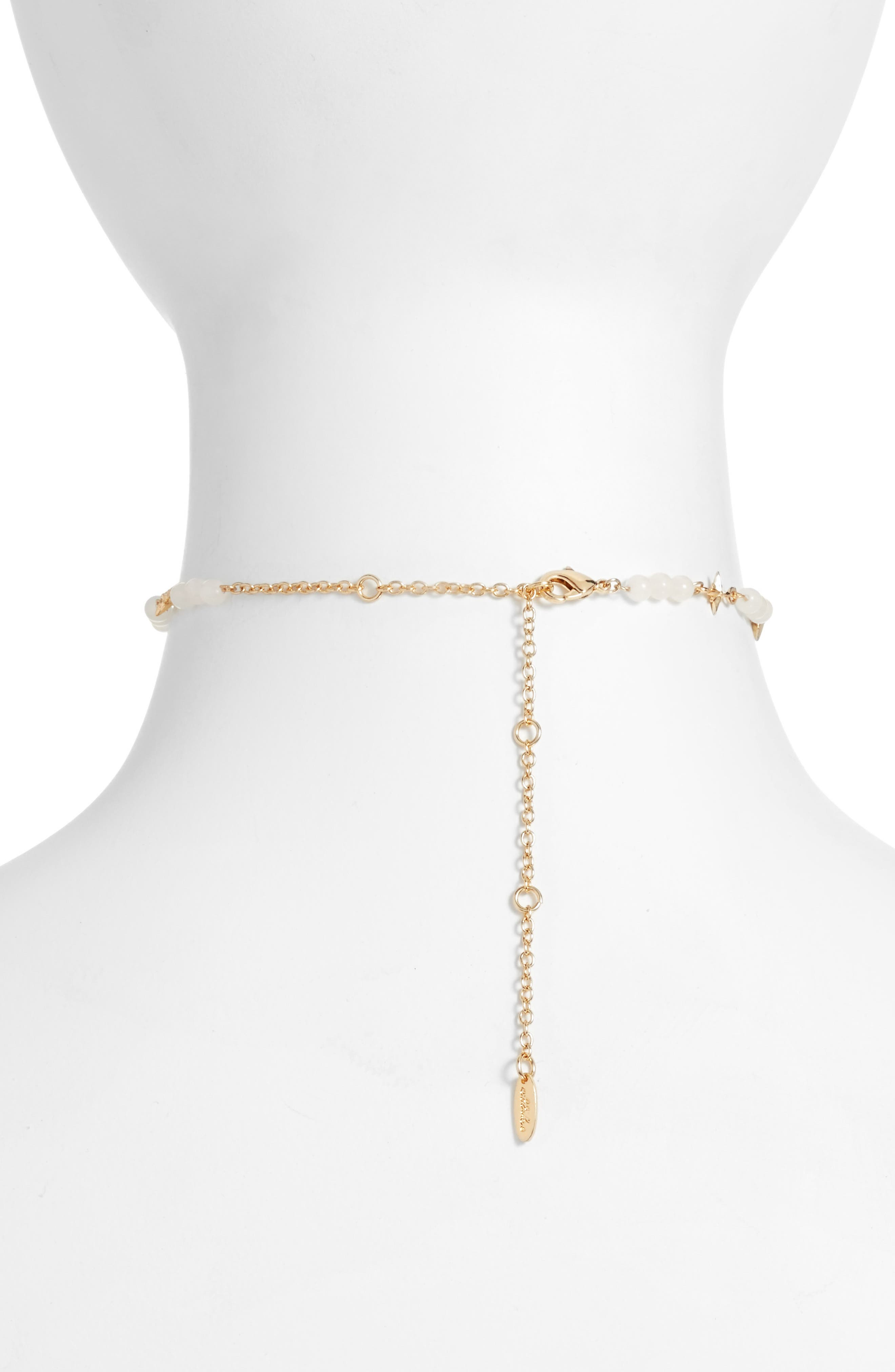 Star Chain Choker,                             Alternate thumbnail 2, color,                             710