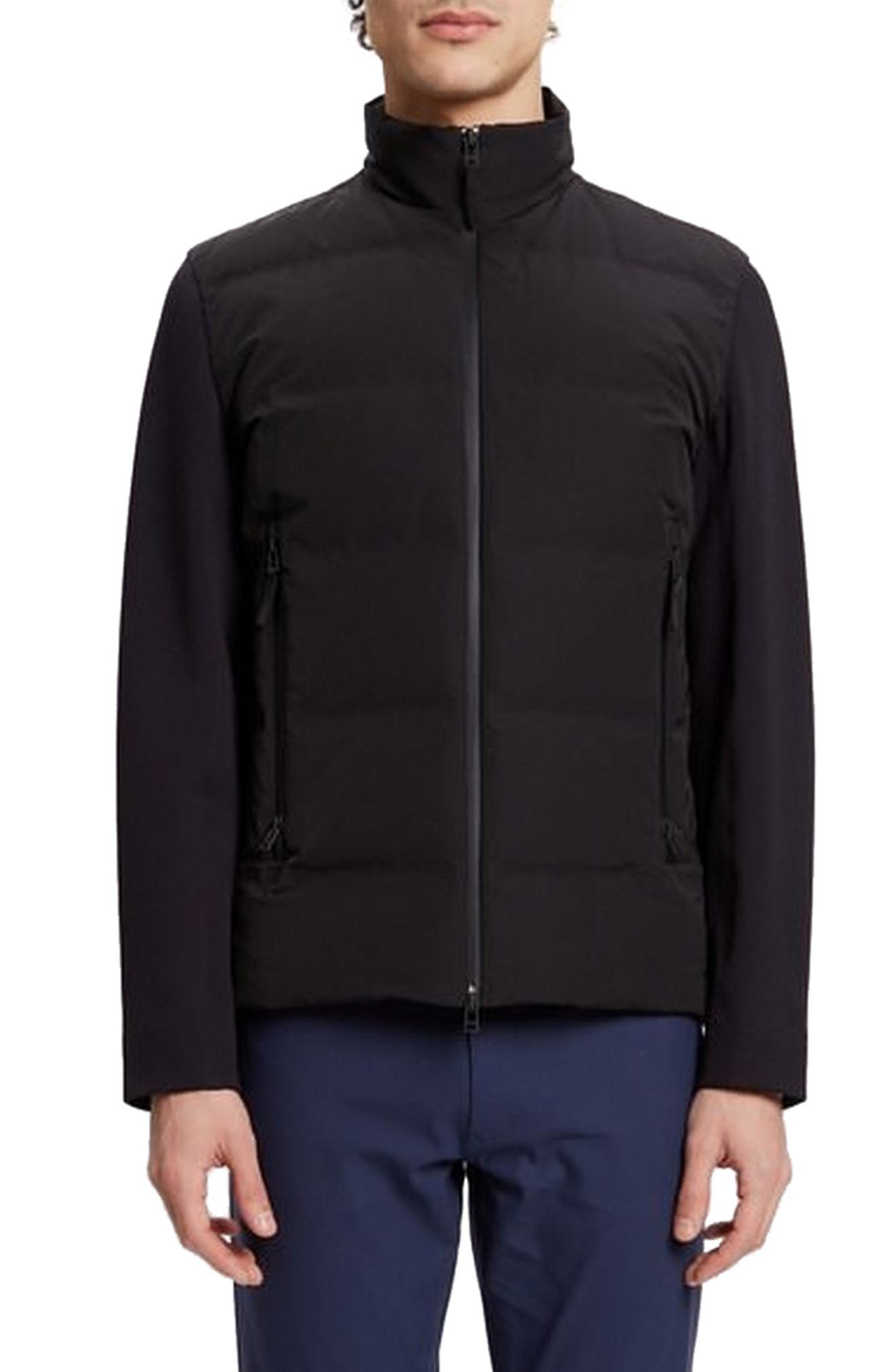 Theory Ignite Mountain Quilted Jacket, Black