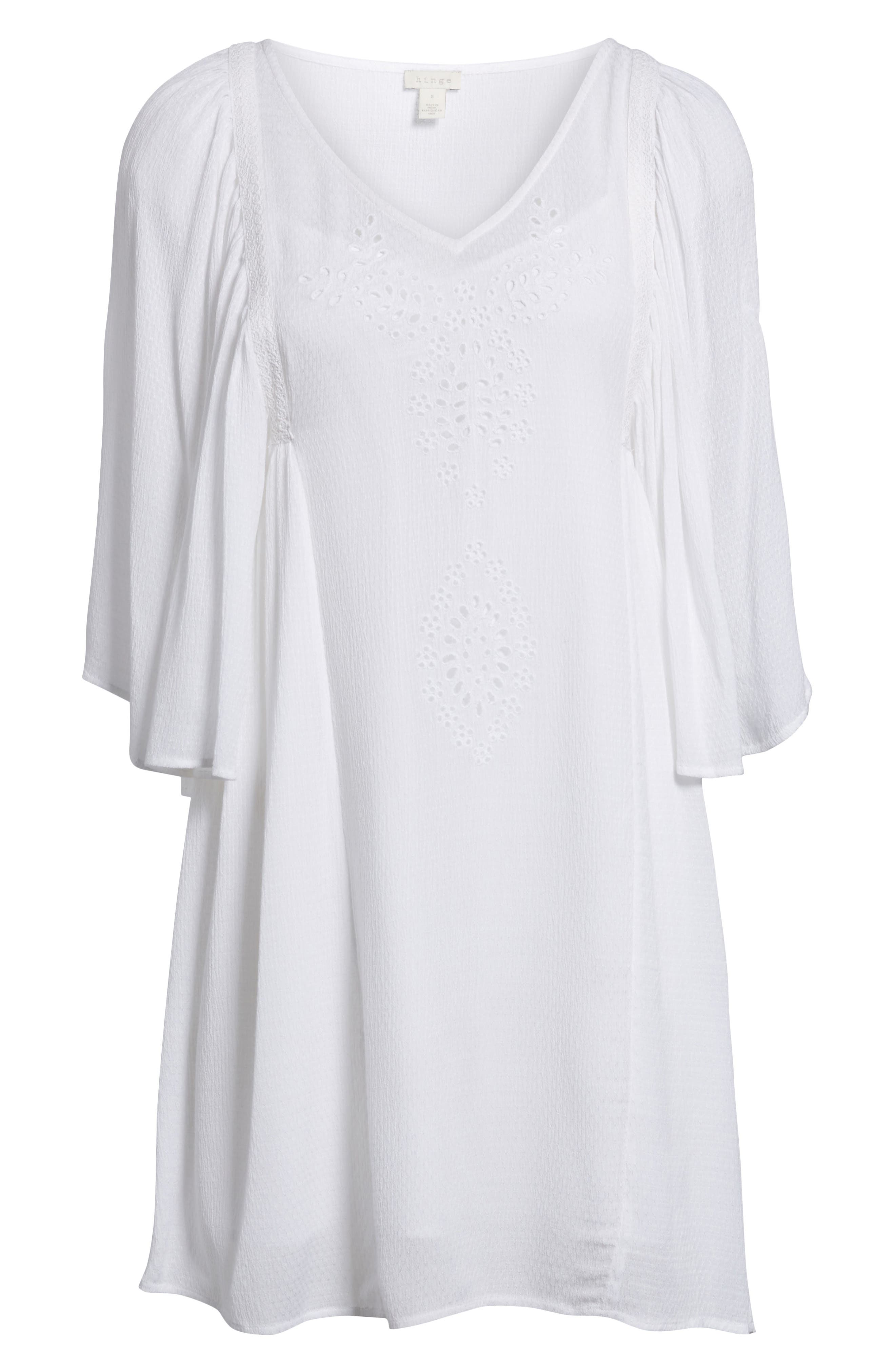 Embroidered Dress,                             Alternate thumbnail 18, color,