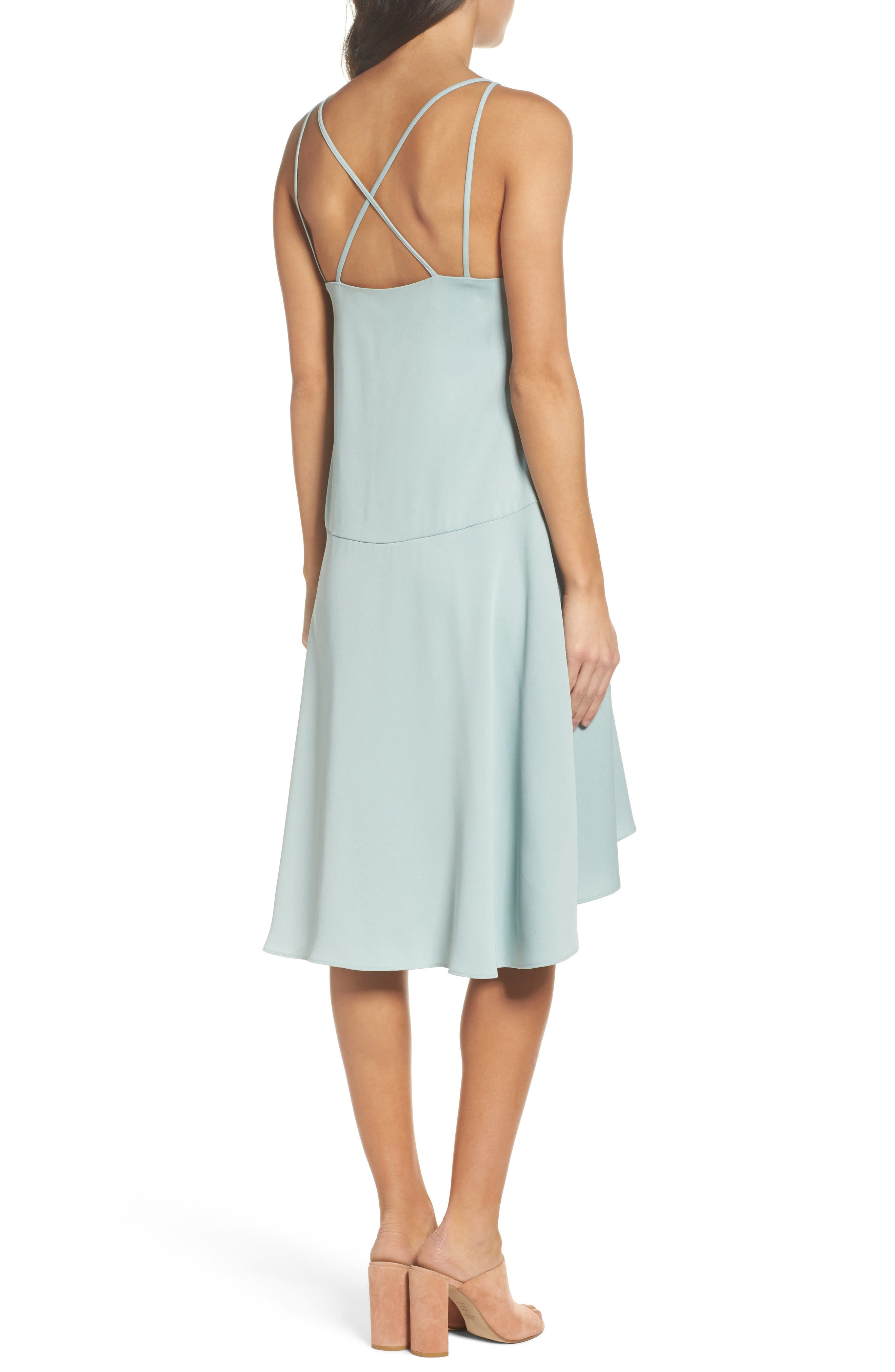 BB DAKOTA OCCASION,                             BB Dakota Bobbie High/Low Dress,                             Alternate thumbnail 2, color,                             350