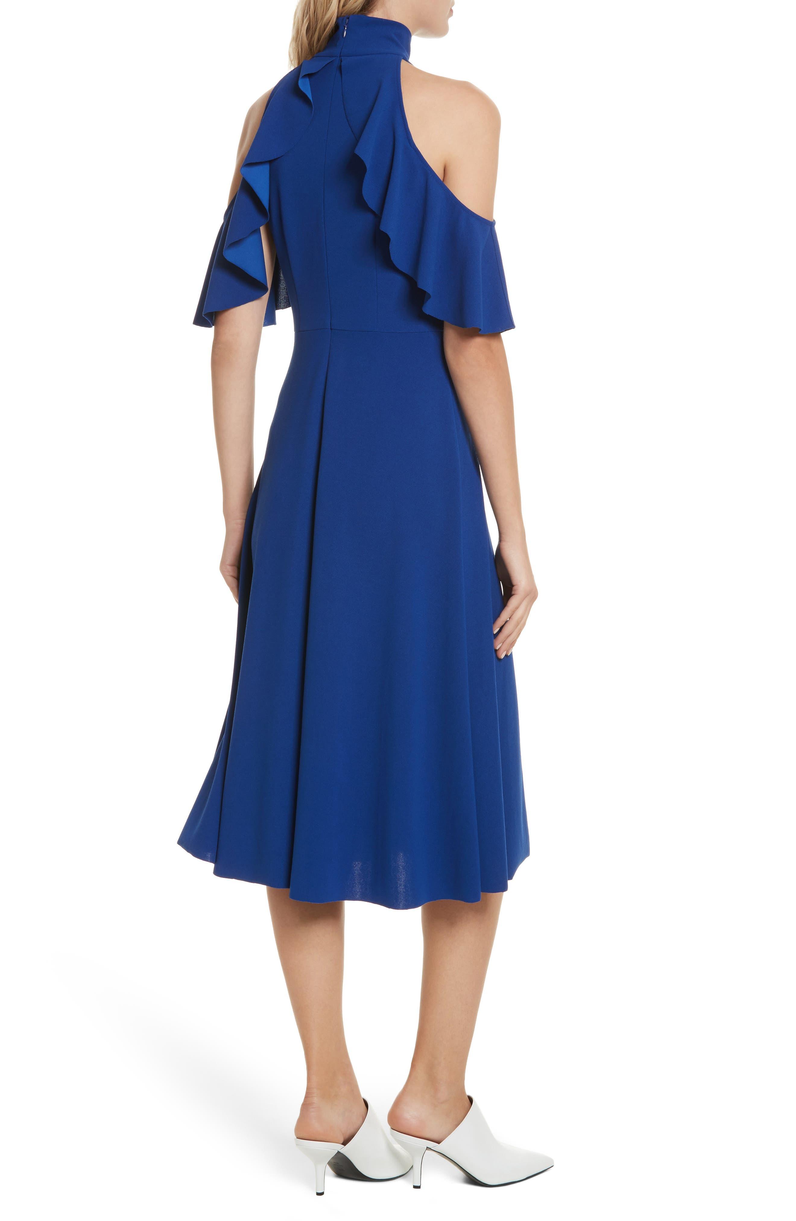 Midi Dress,                             Alternate thumbnail 2, color,                             415