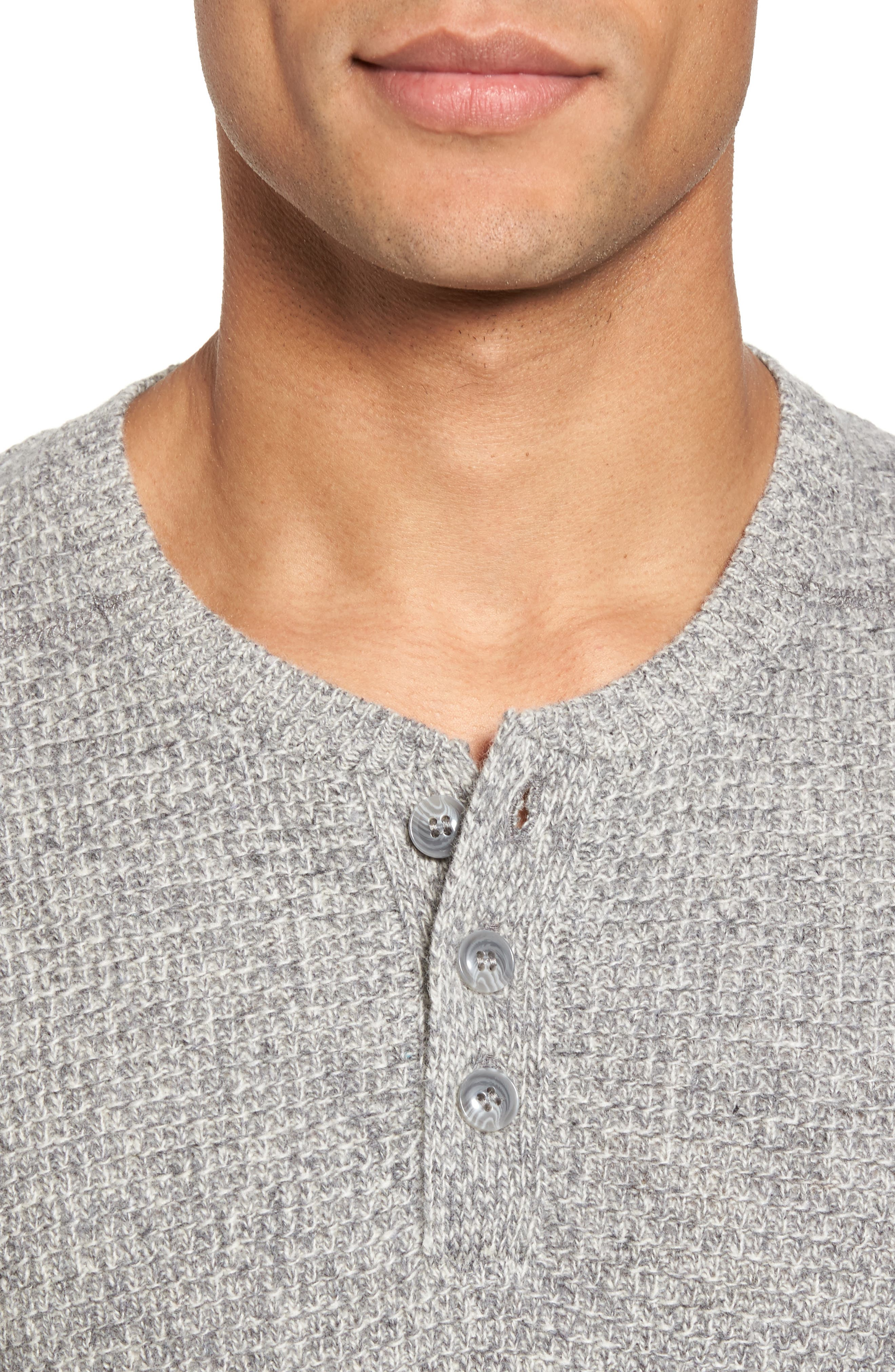 Thermal Henley,                             Alternate thumbnail 23, color,