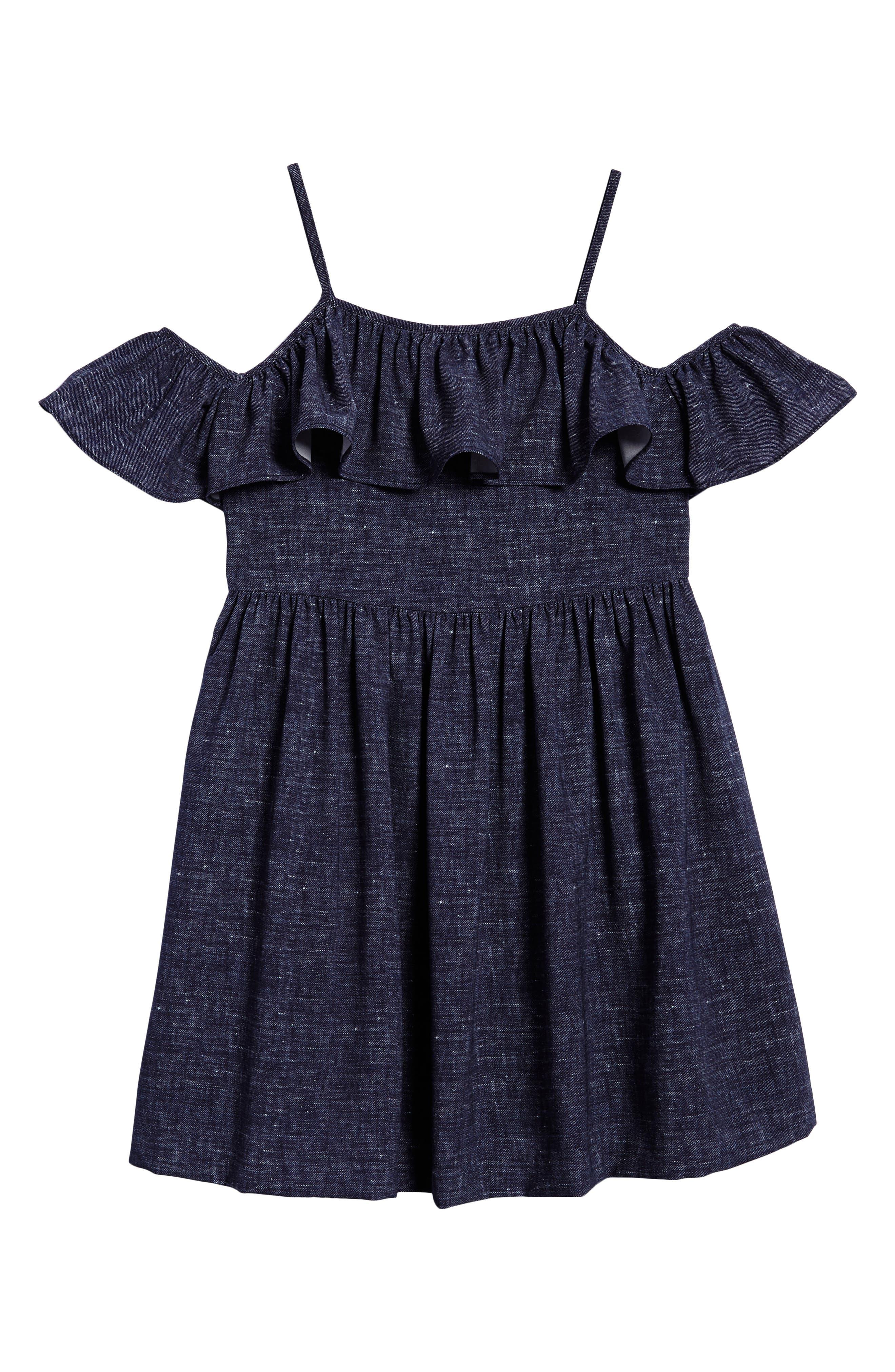 Bella Cold Shoulder Dress,                         Main,                         color, 464