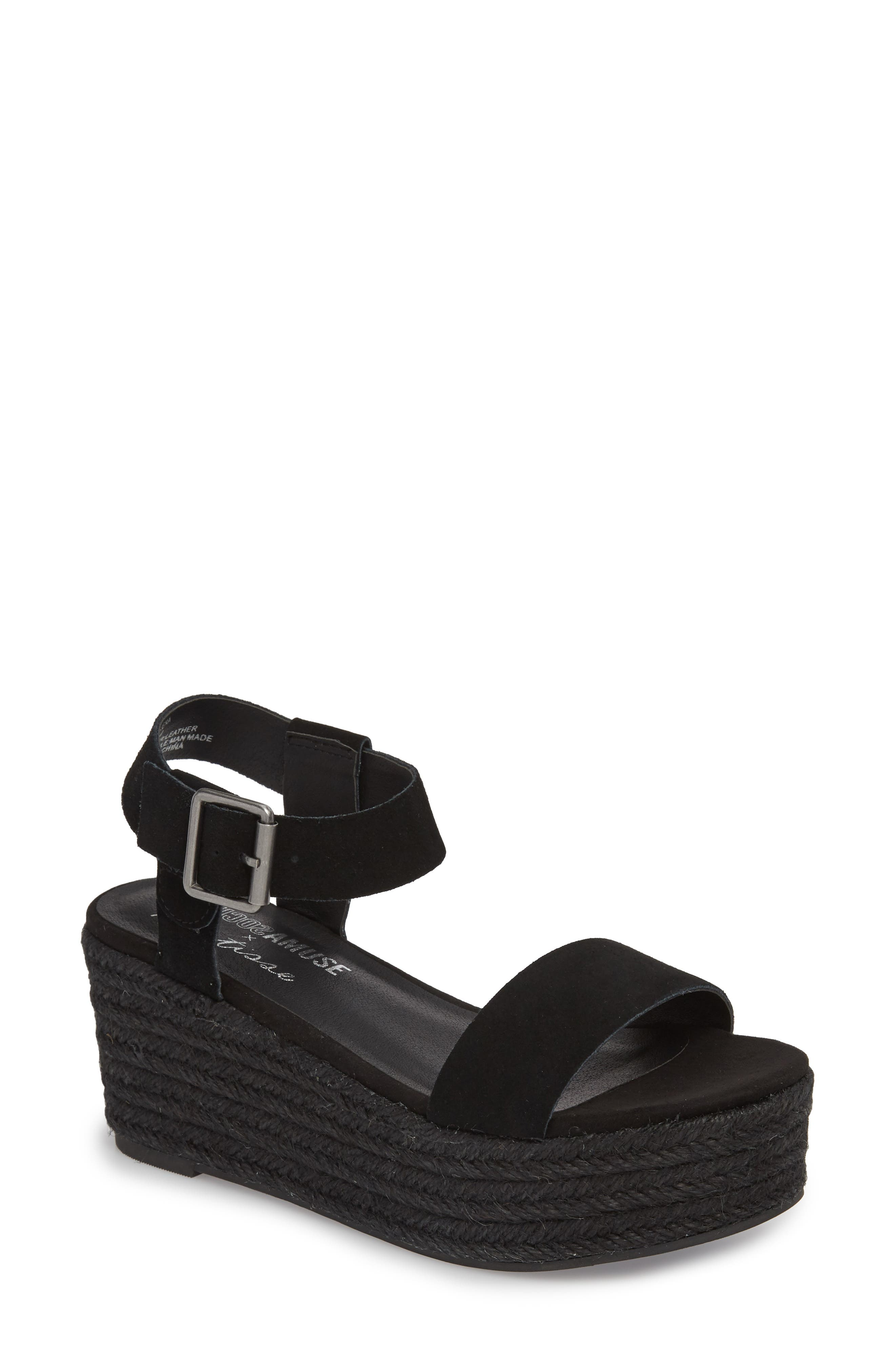Amuse Society x Matisse Siena Wedge Sandal,                             Main thumbnail 1, color,                             017