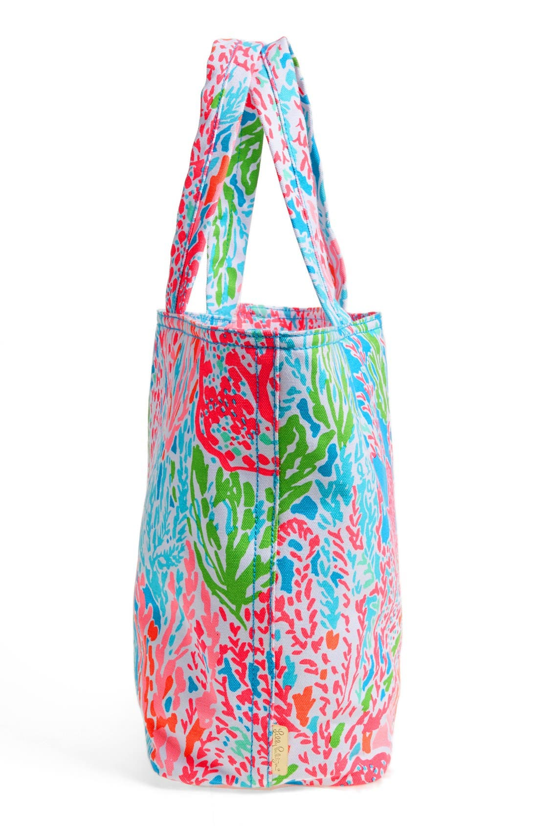 Canvas Beach Tote,                             Alternate thumbnail 7, color,