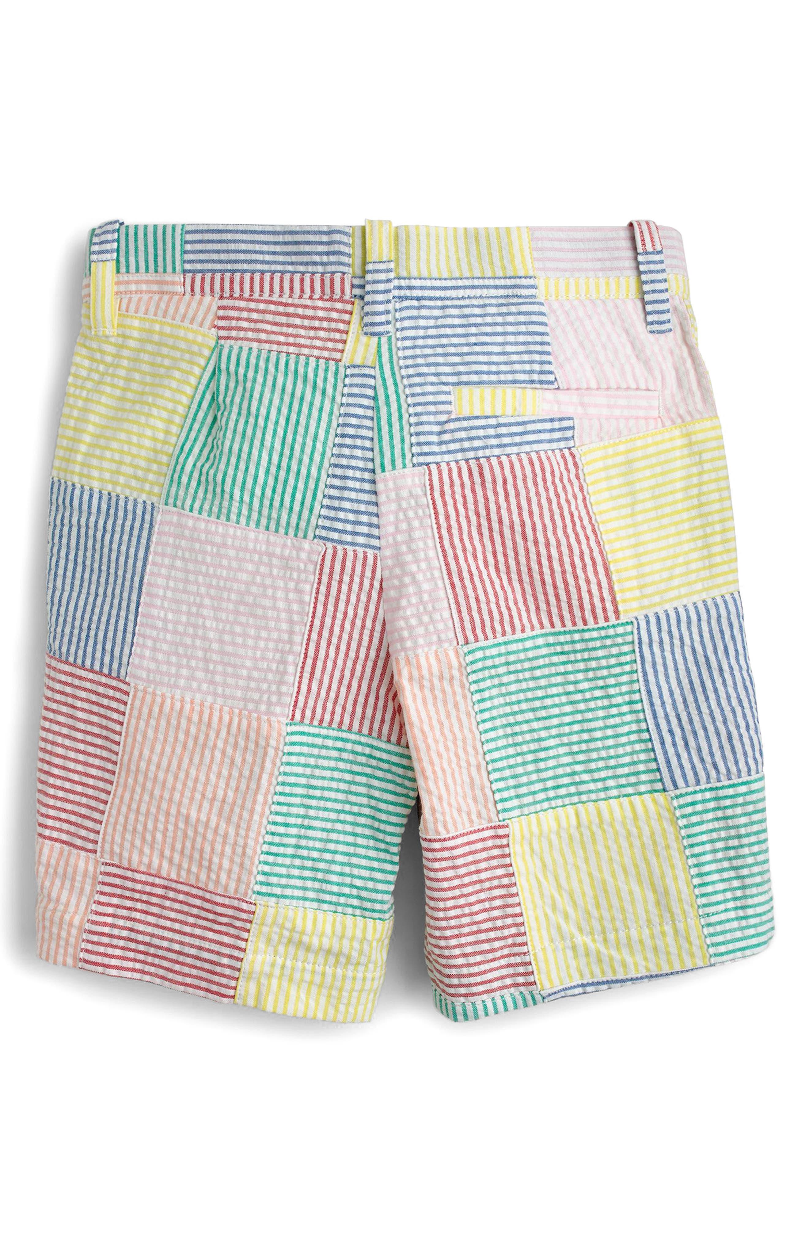 Crewcuts Stanton Patchwork Shorts,                             Alternate thumbnail 2, color,                             900