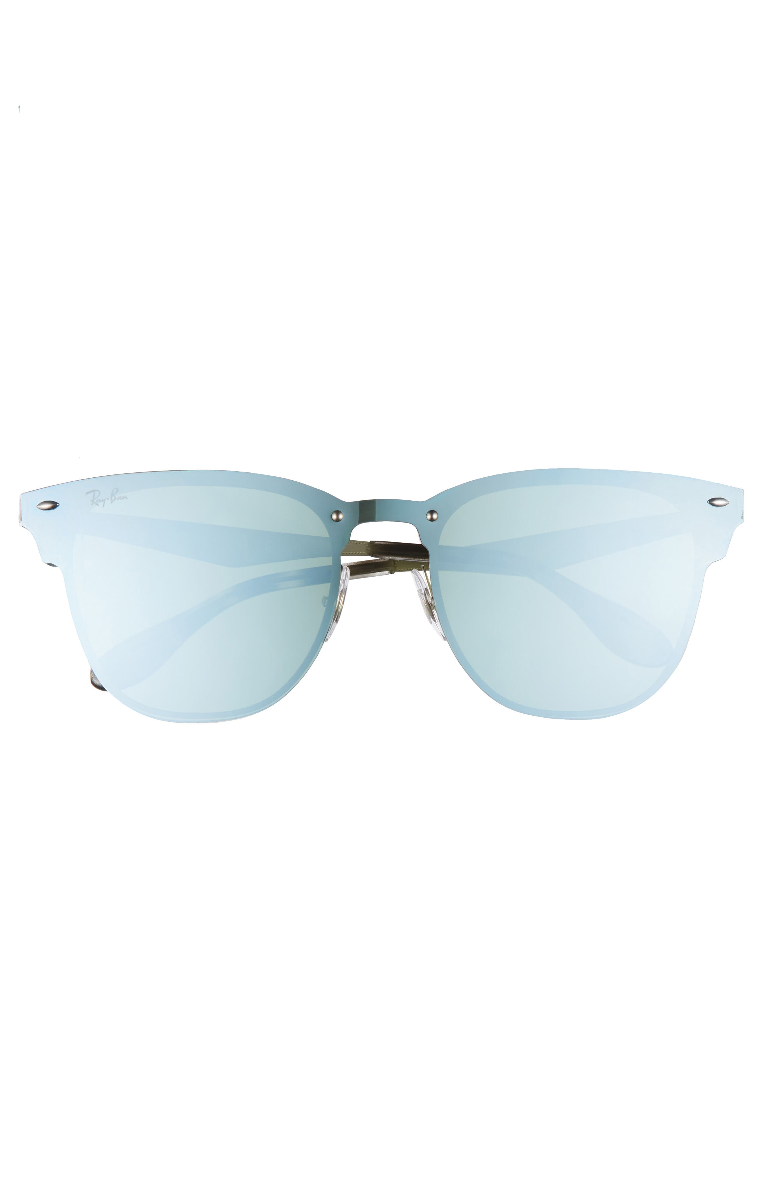 52mm Mirrored Sunglasses,                             Alternate thumbnail 3, color,                             040