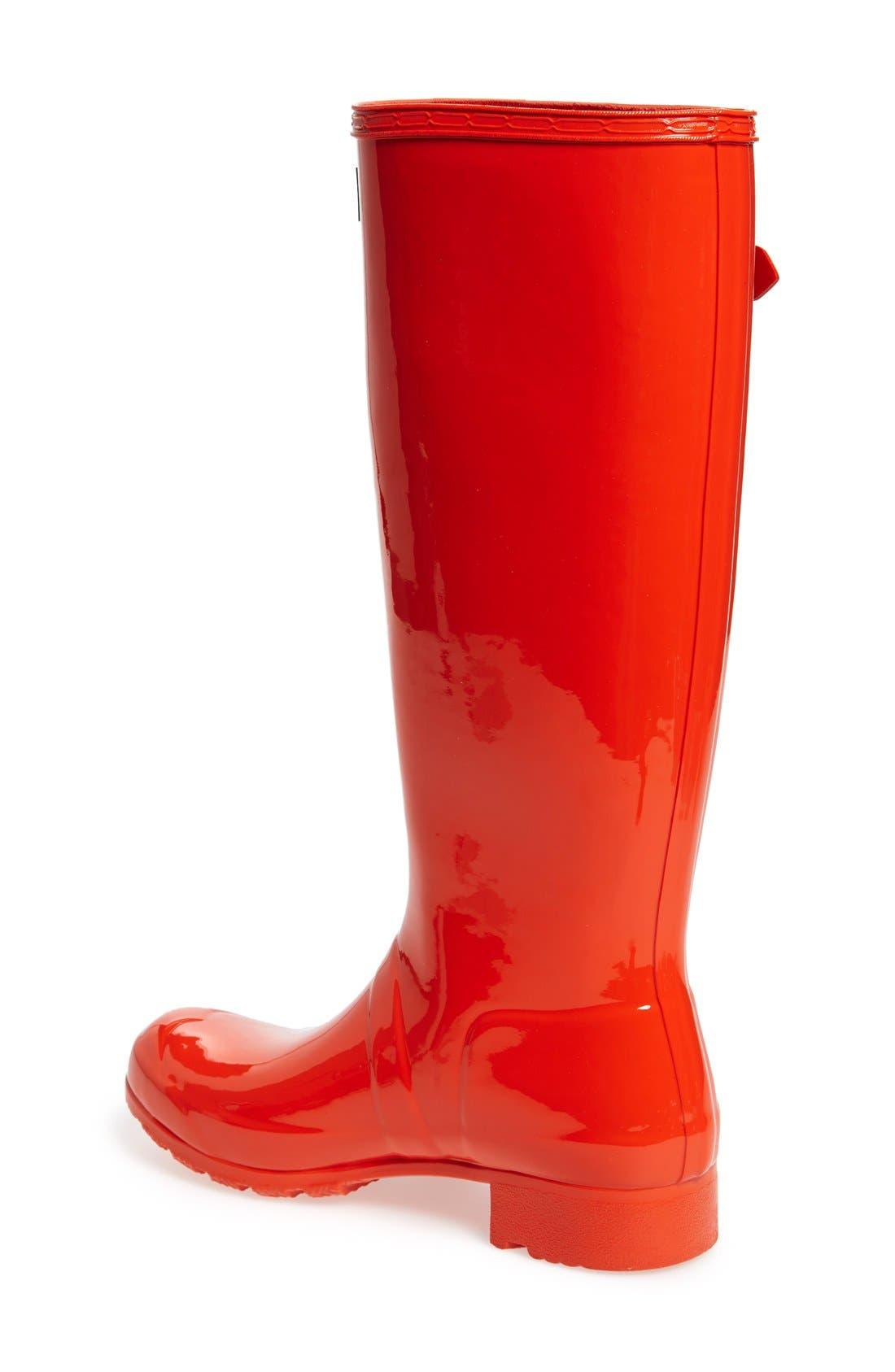 Original Tour Gloss Packable Rain Boot,                             Alternate thumbnail 29, color,