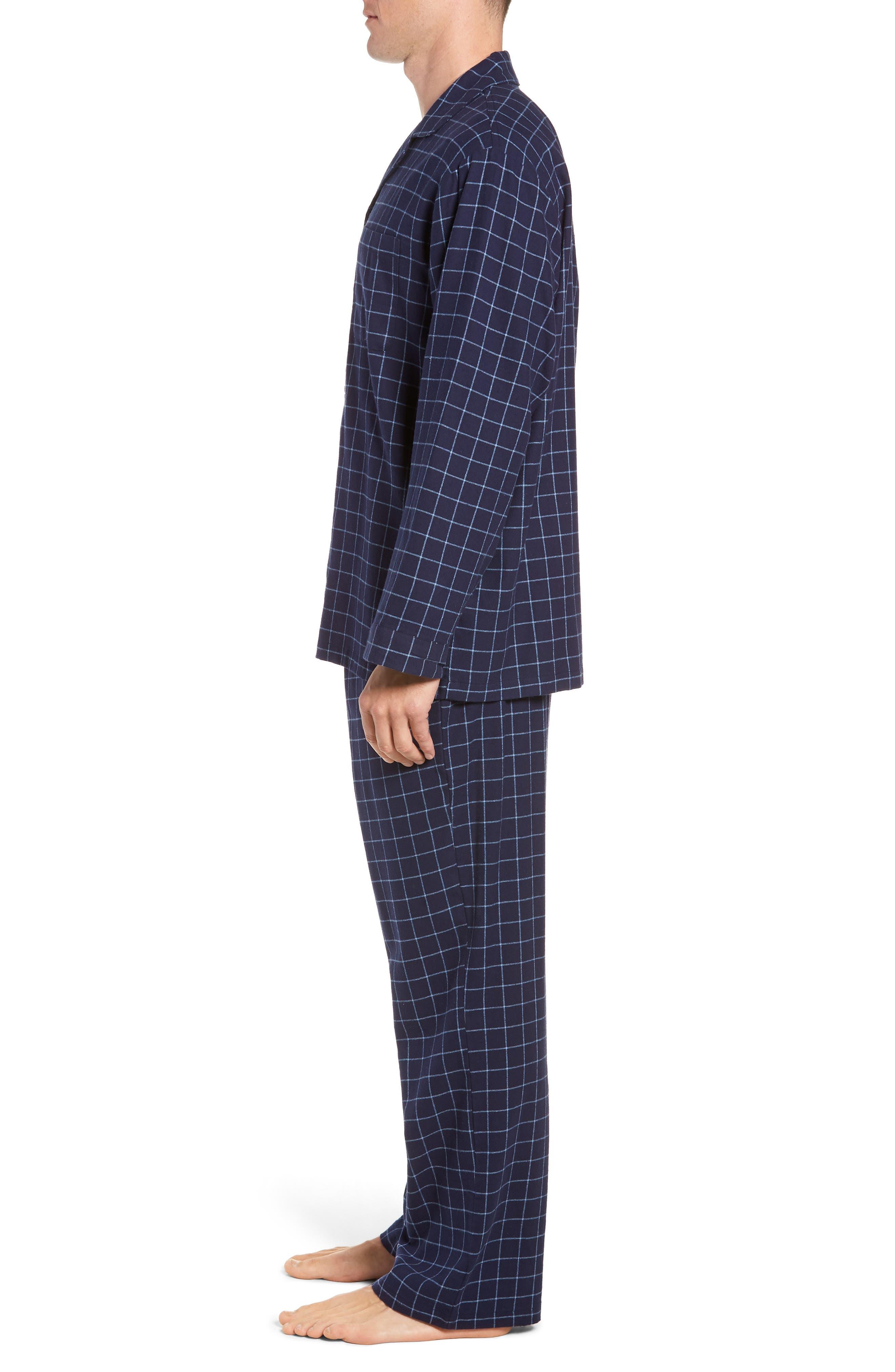 '824' Flannel Pajama Set,                             Alternate thumbnail 61, color,