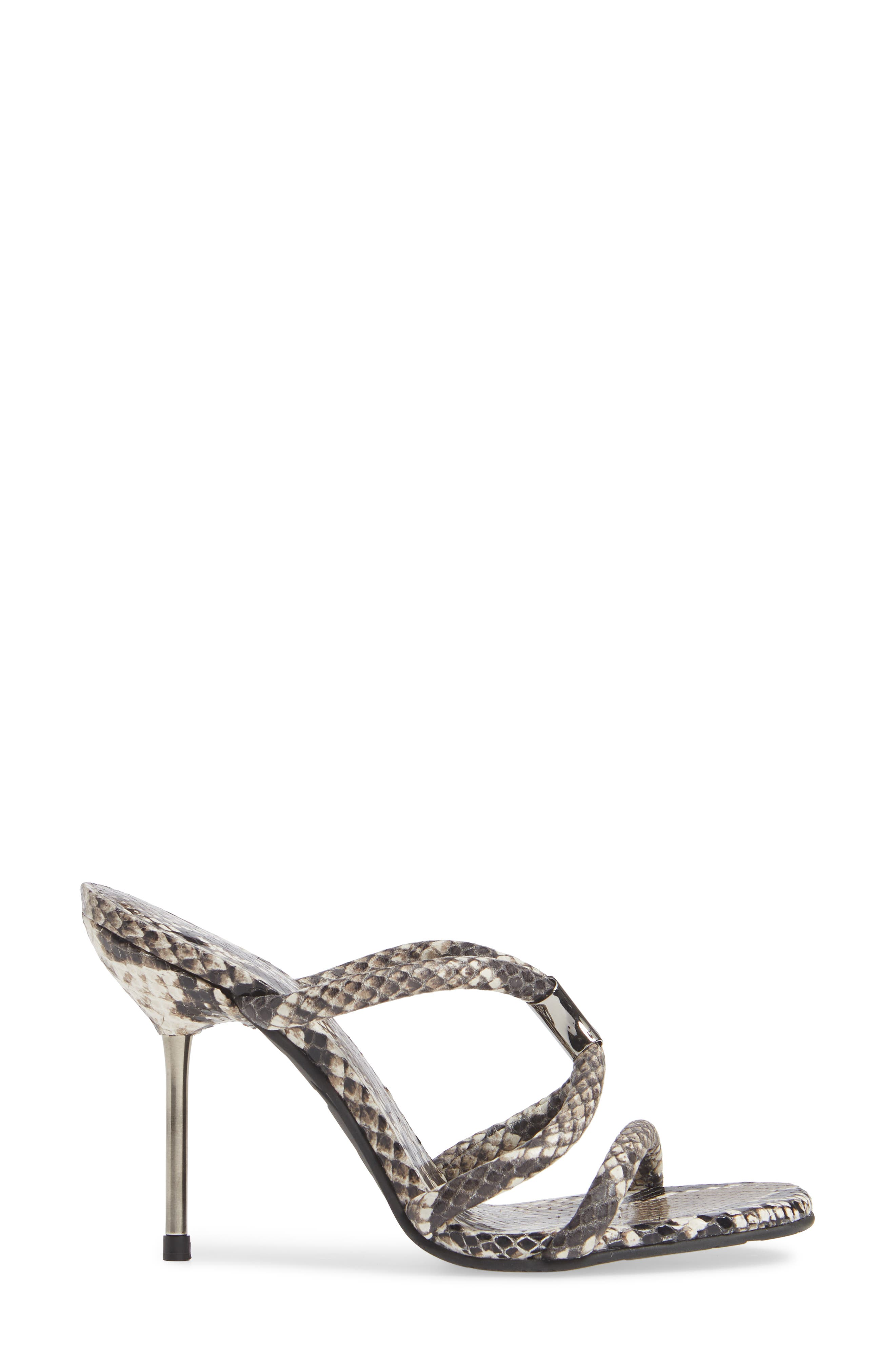 Macy Rope Sandal,                             Alternate thumbnail 3, color,                             NATURAL PYTHON