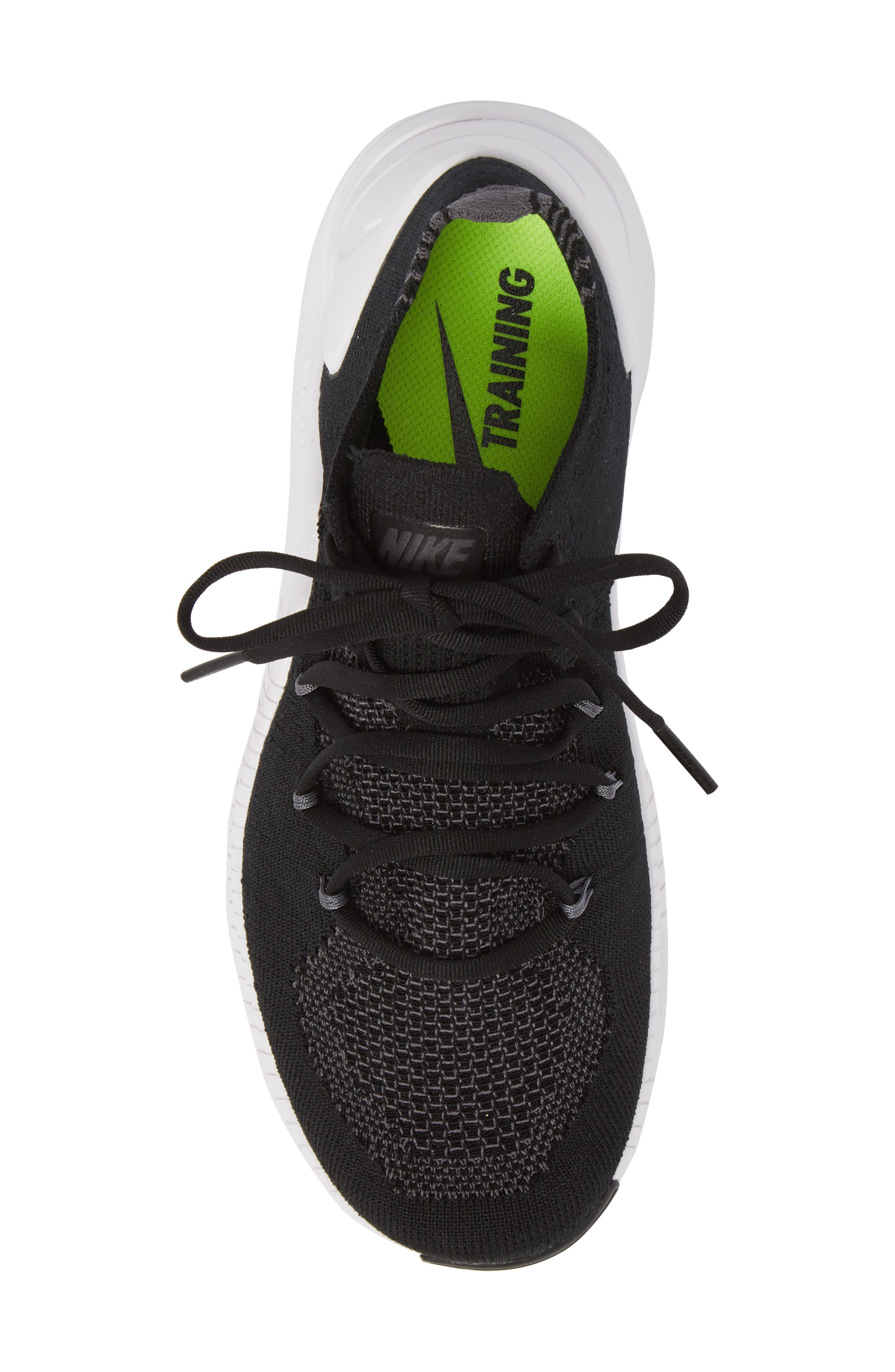 Free TR Flyknit 3 Training Shoe,                             Alternate thumbnail 4, color,                             001