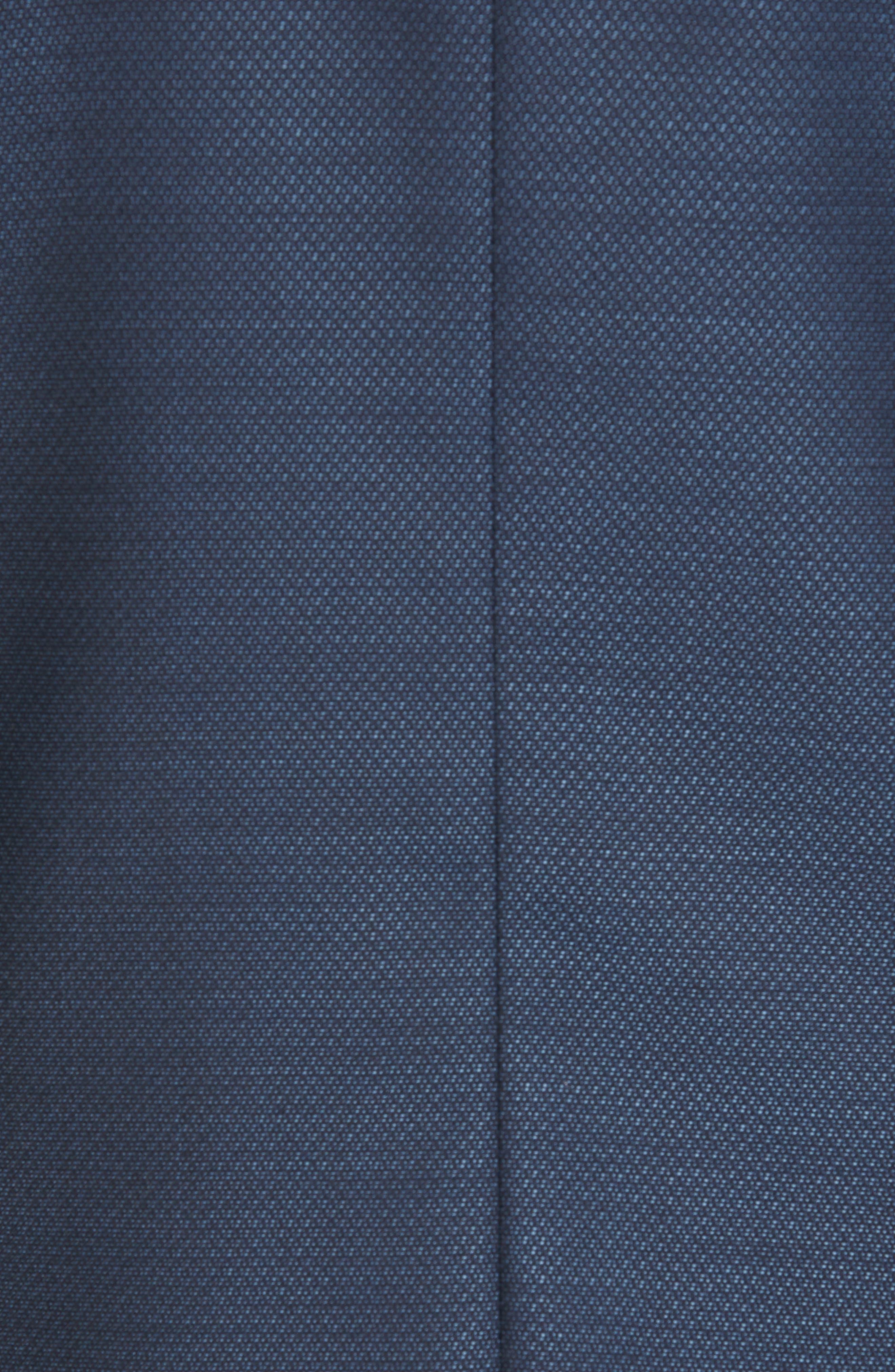 Nobis Trim Fit Wool Blazer,                             Alternate thumbnail 6, color,                             BLUE