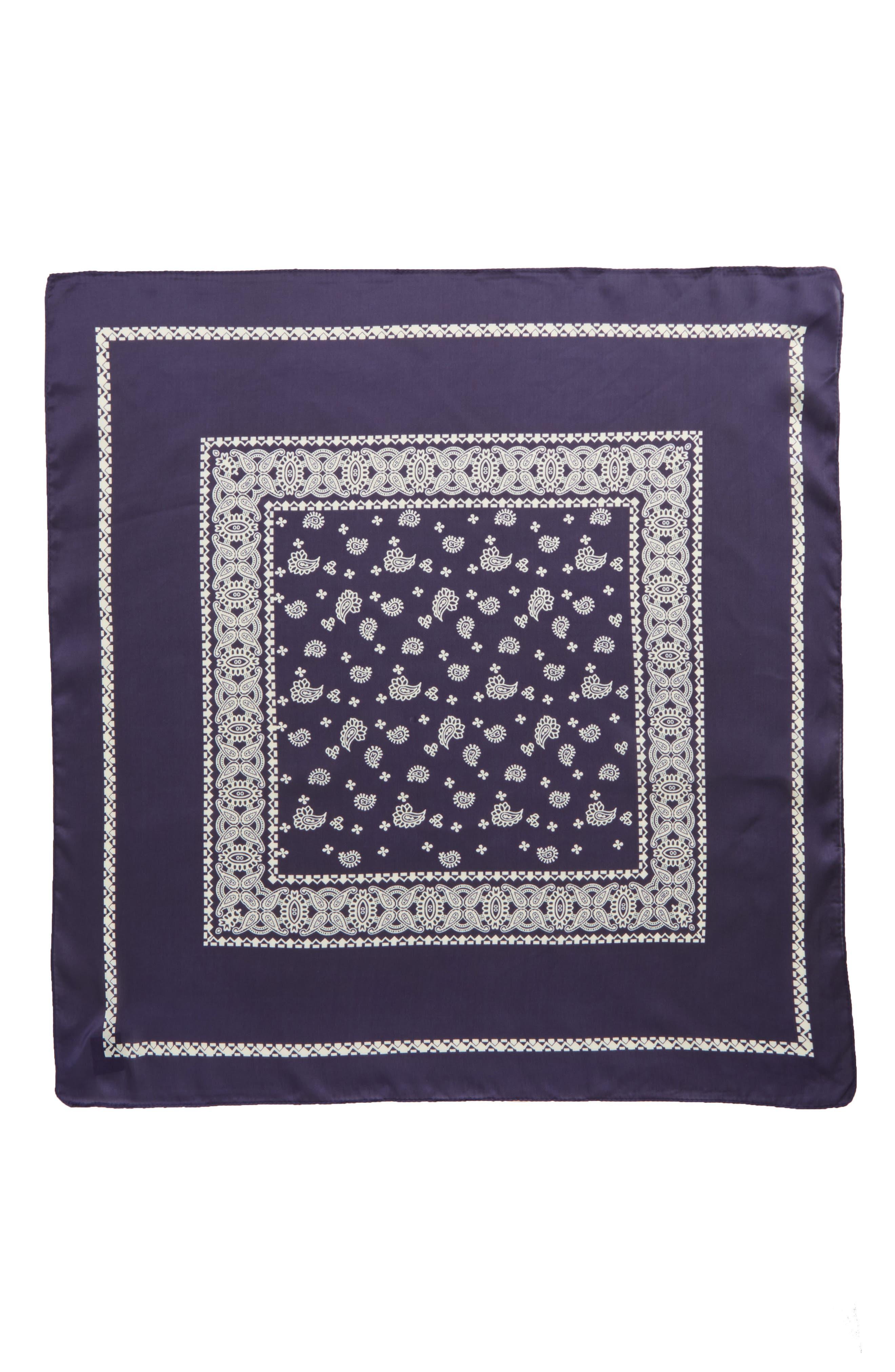 Paisley Handkerchief,                             Alternate thumbnail 2, color,                             410