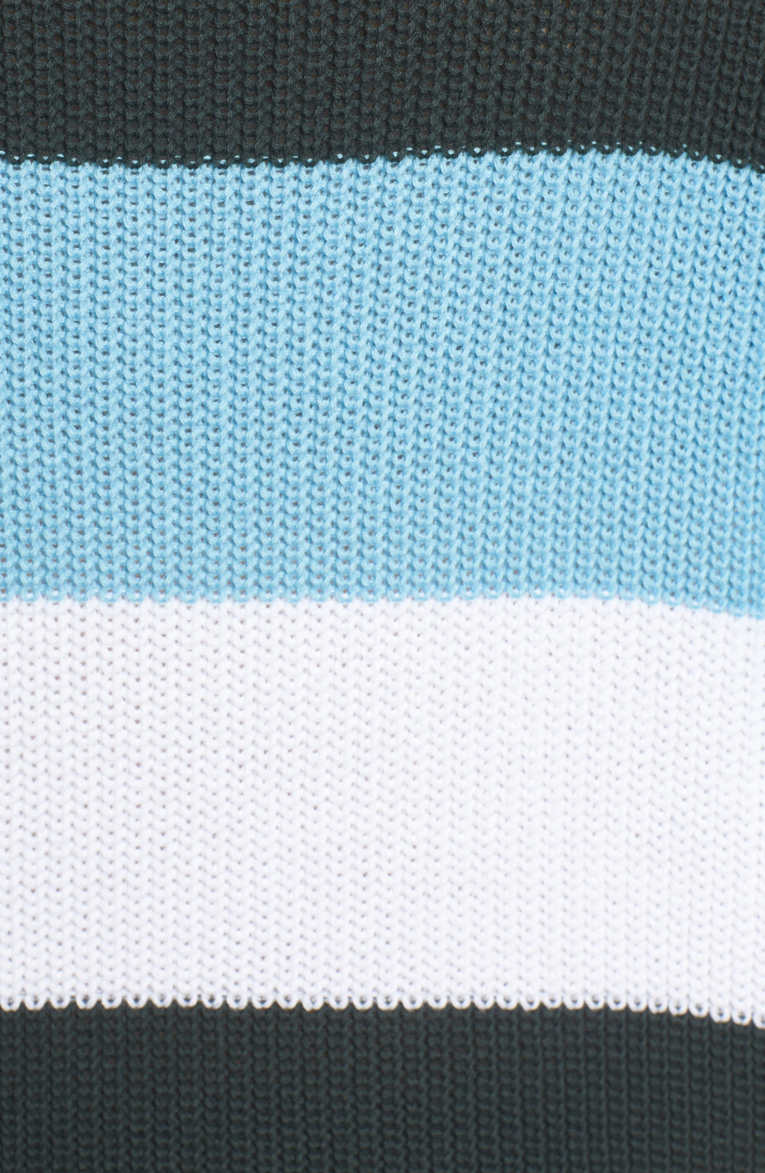 BP.,                             Stripe Sweater,                             Alternate thumbnail 5, color,                             680