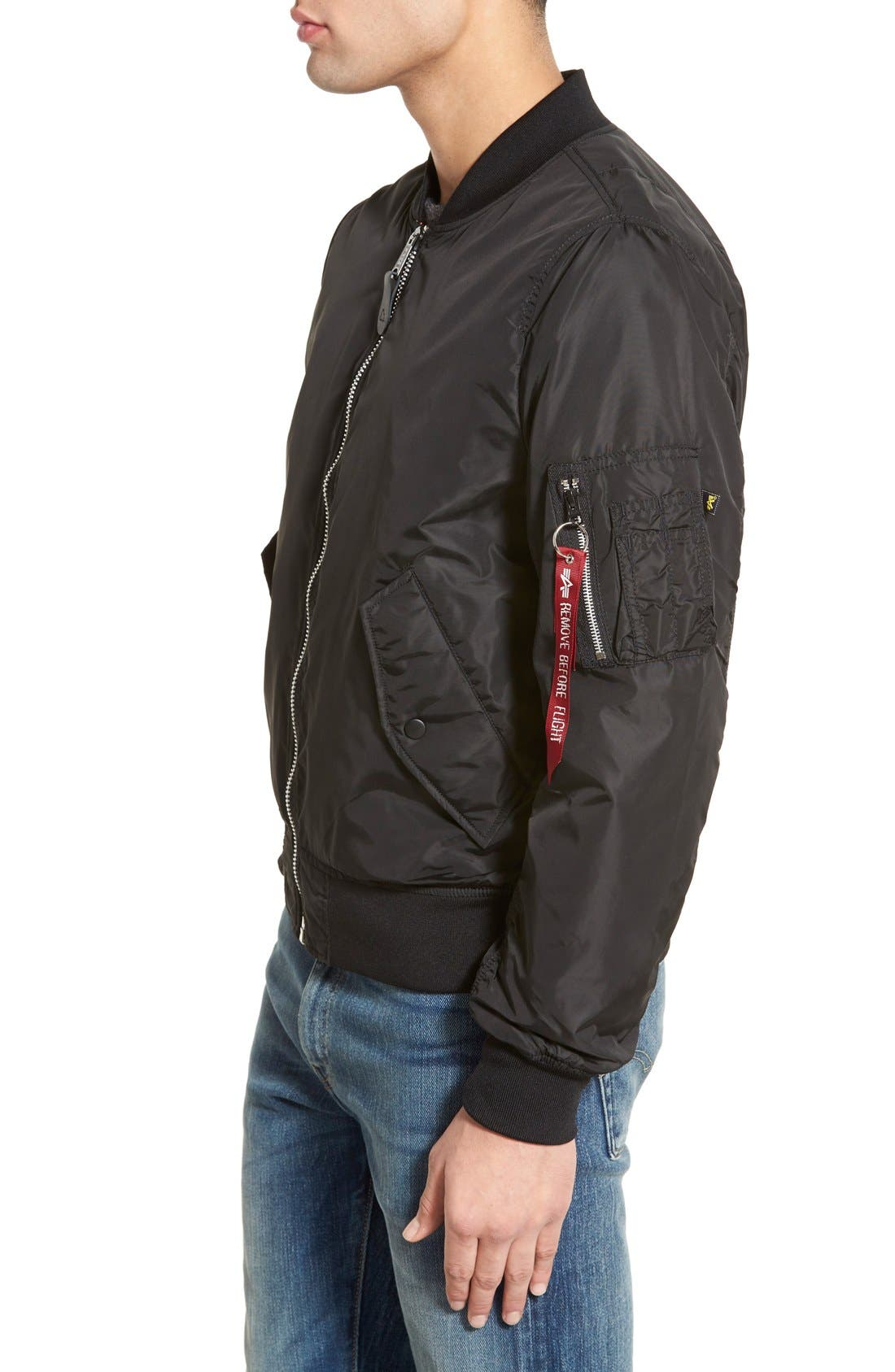 LB-2 Scout Reversible Flight Jacket,                             Alternate thumbnail 27, color,