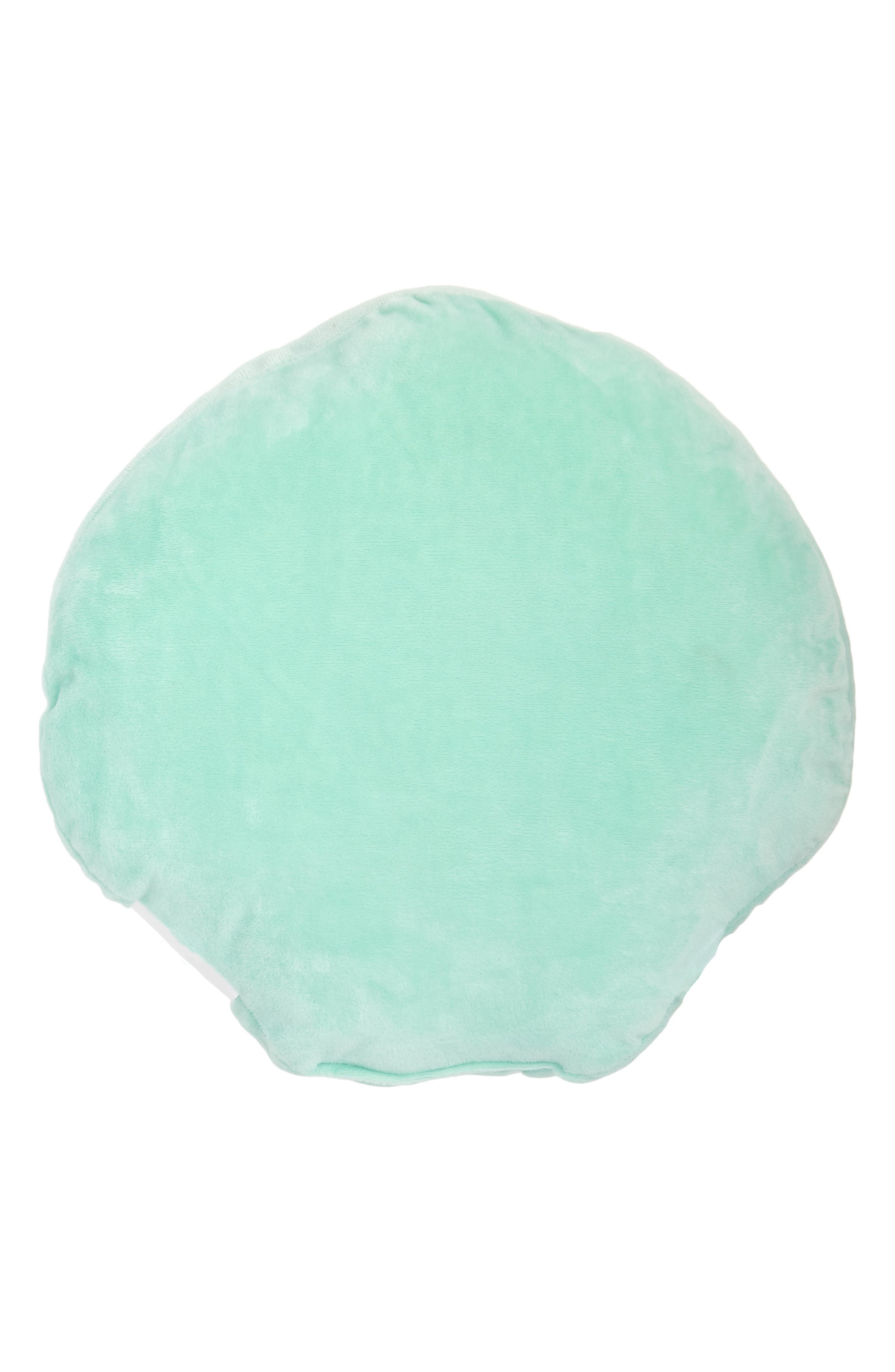 Reversible Sequin Seashell Pillow,                             Alternate thumbnail 2, color,