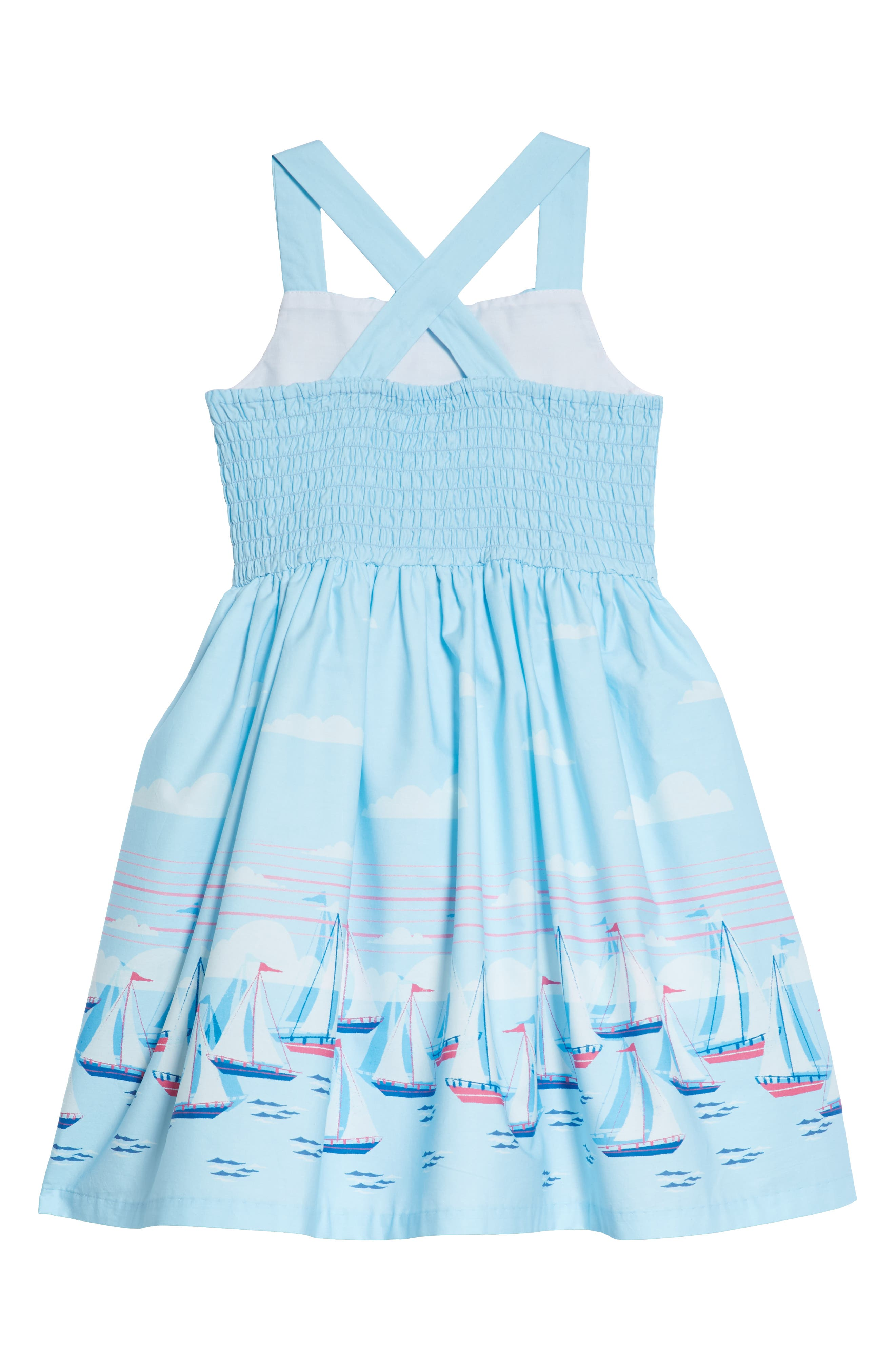 Sailboat Dress,                             Alternate thumbnail 2, color,                             400