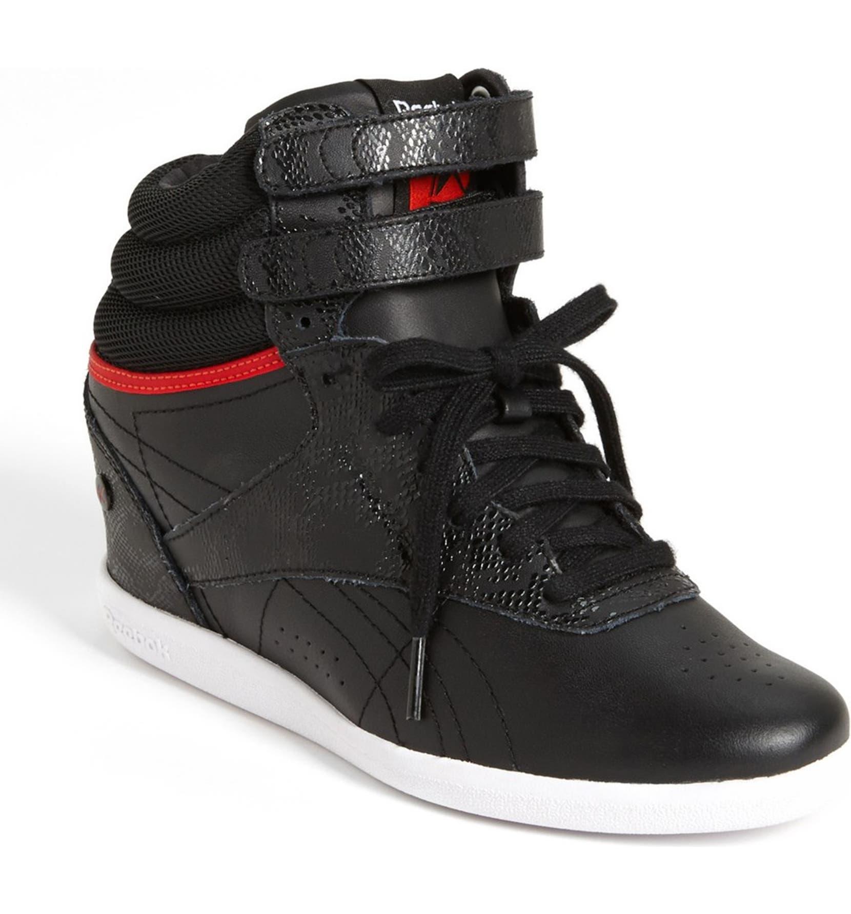 96e2094b6e49a3 Reebok  Freestyle Hi Wedge A. Keys  Sneaker (Women)