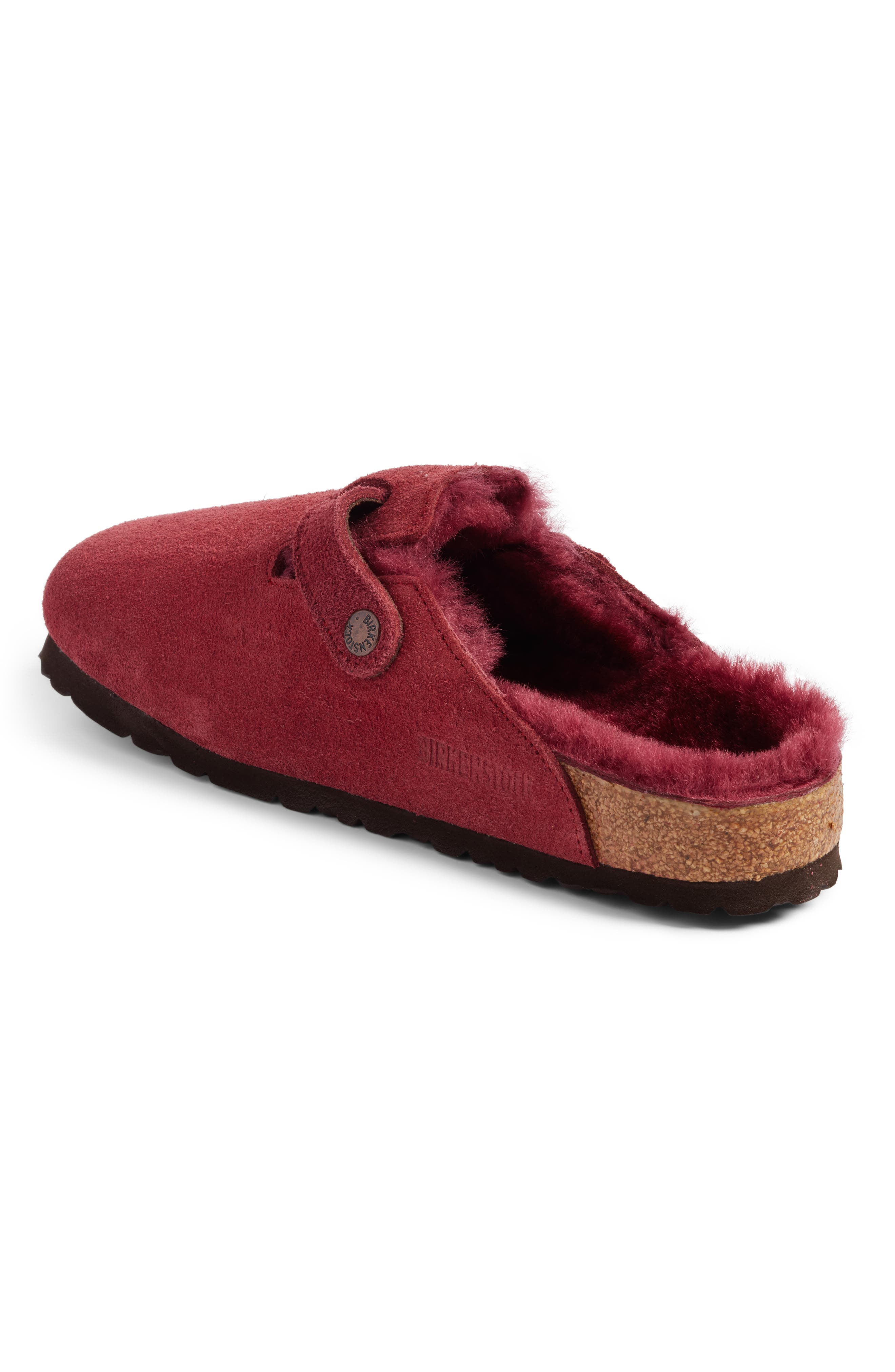 Boston Genuine Shearling Lined Clog,                             Alternate thumbnail 2, color,                             930