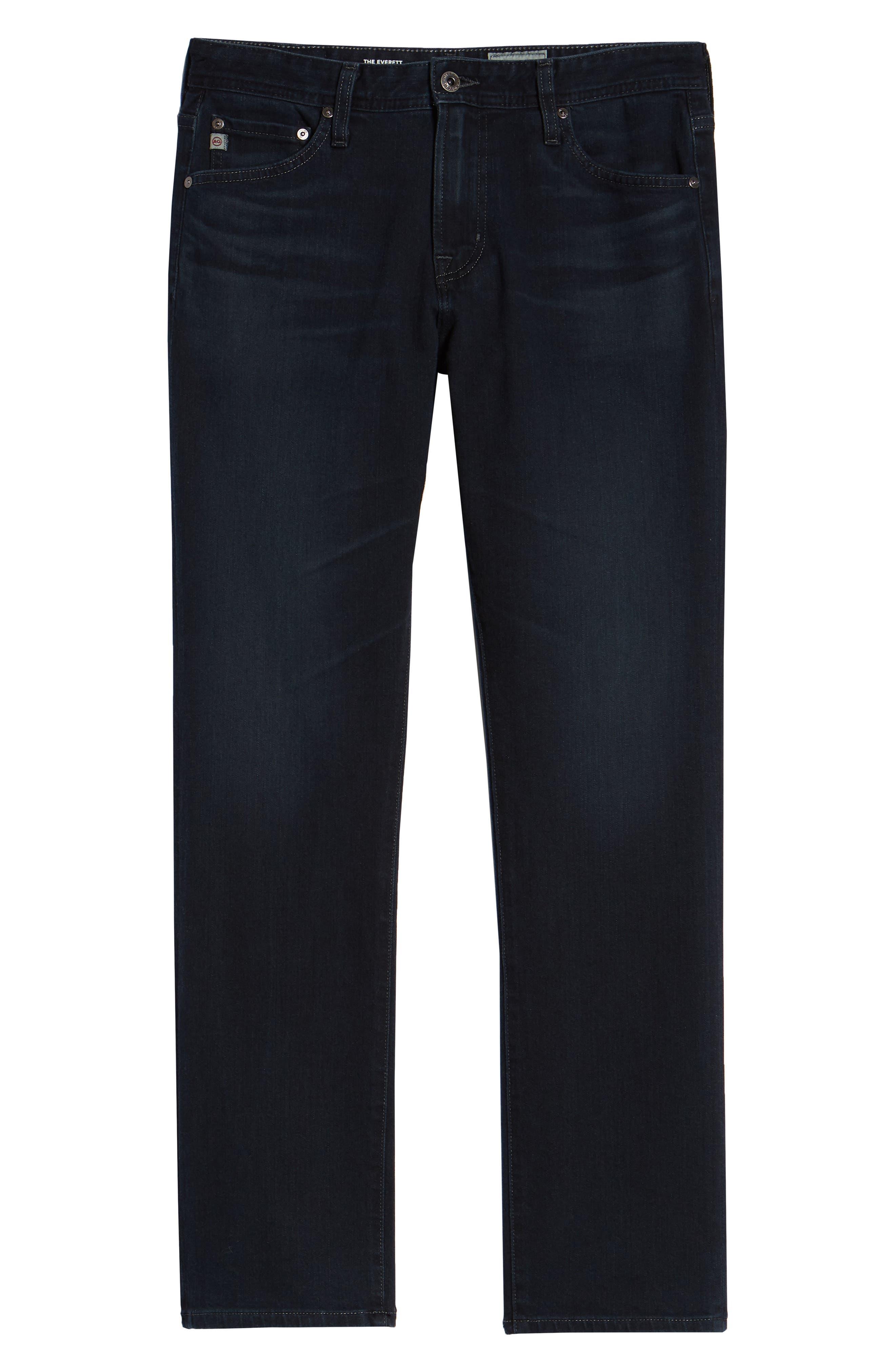 Everett Slim Straight Jeans,                             Alternate thumbnail 6, color,                             ORISON