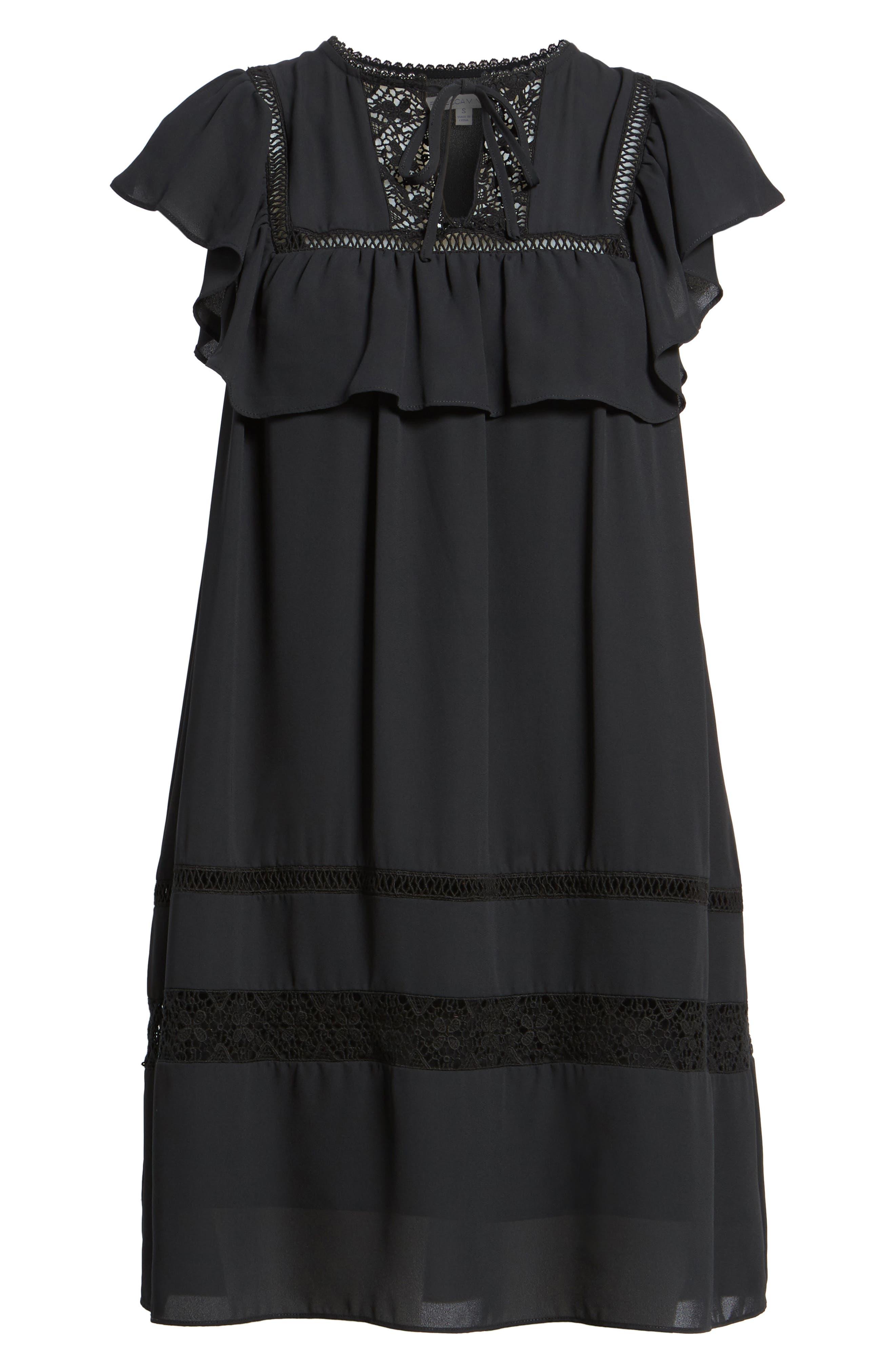 Sorbonne Babydoll Dress,                             Alternate thumbnail 11, color,