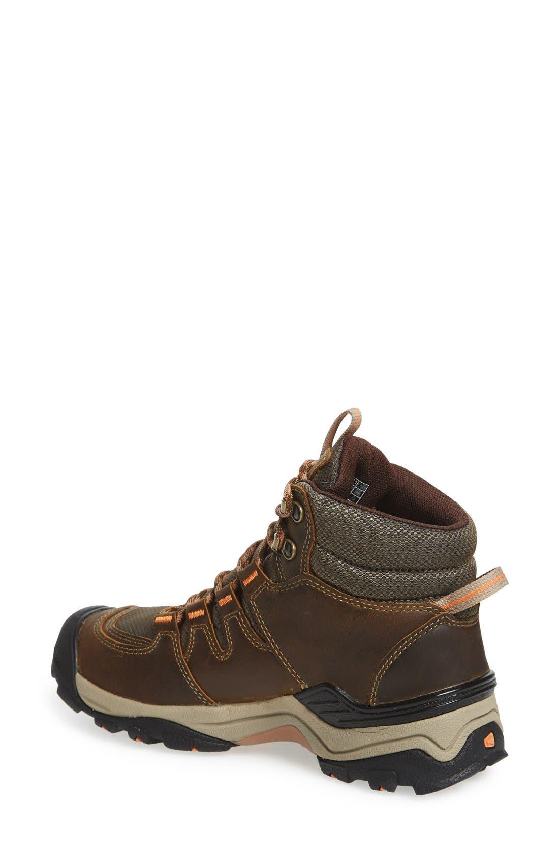 Gypsum II Mid Waterproof Hiking Boot,                             Alternate thumbnail 2, color,                             CORNSTOCK/ GOLD CORAL