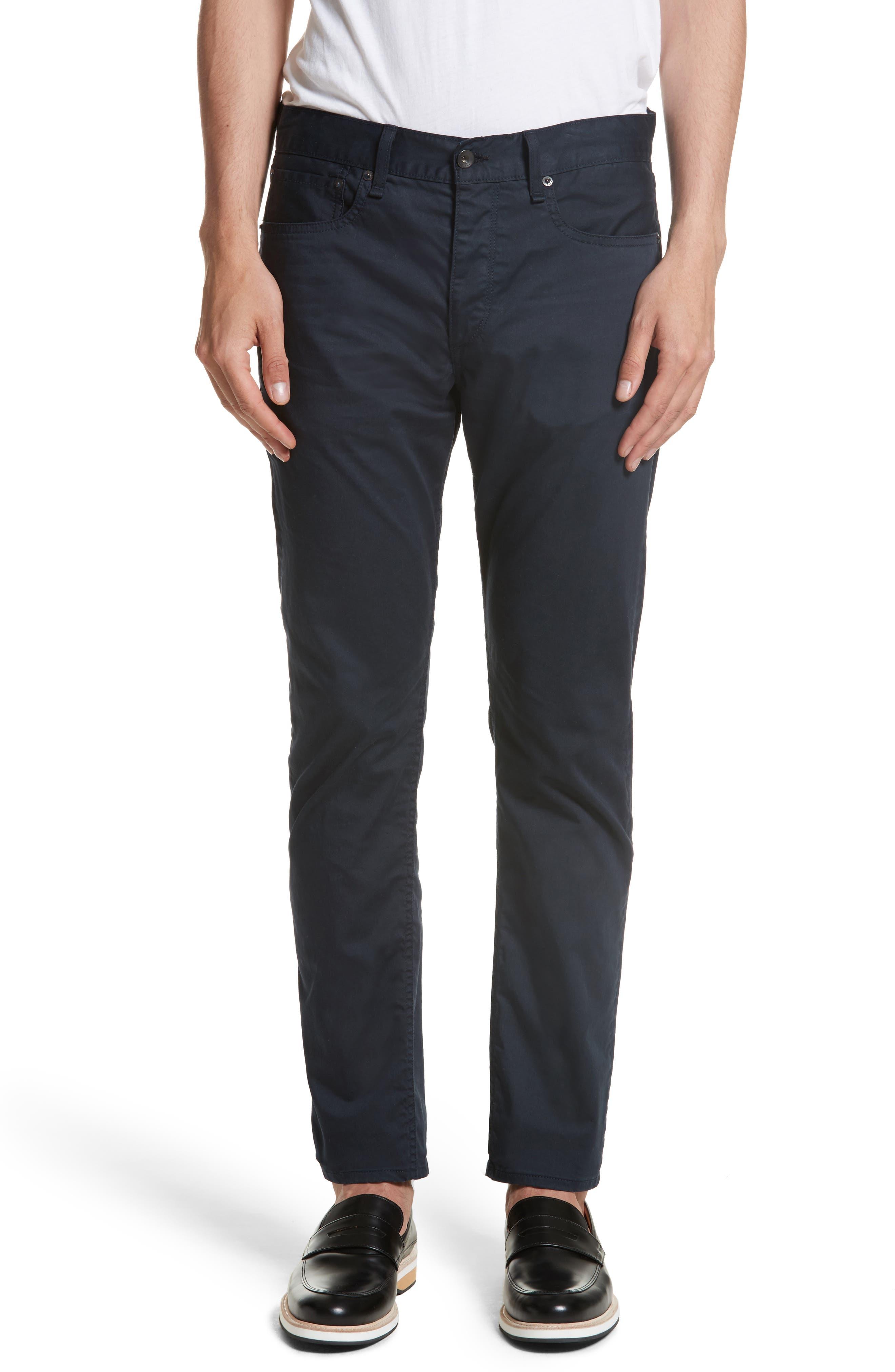 Fit 2 Five-Pocket Twill Pants,                         Main,                         color, 410