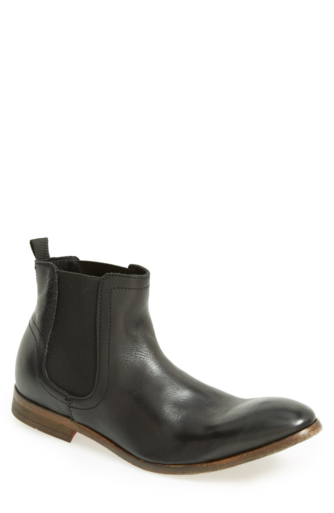 H BY HUDSON,                             'Patterson' Chelsea Boot,                             Main thumbnail 1, color,                             001