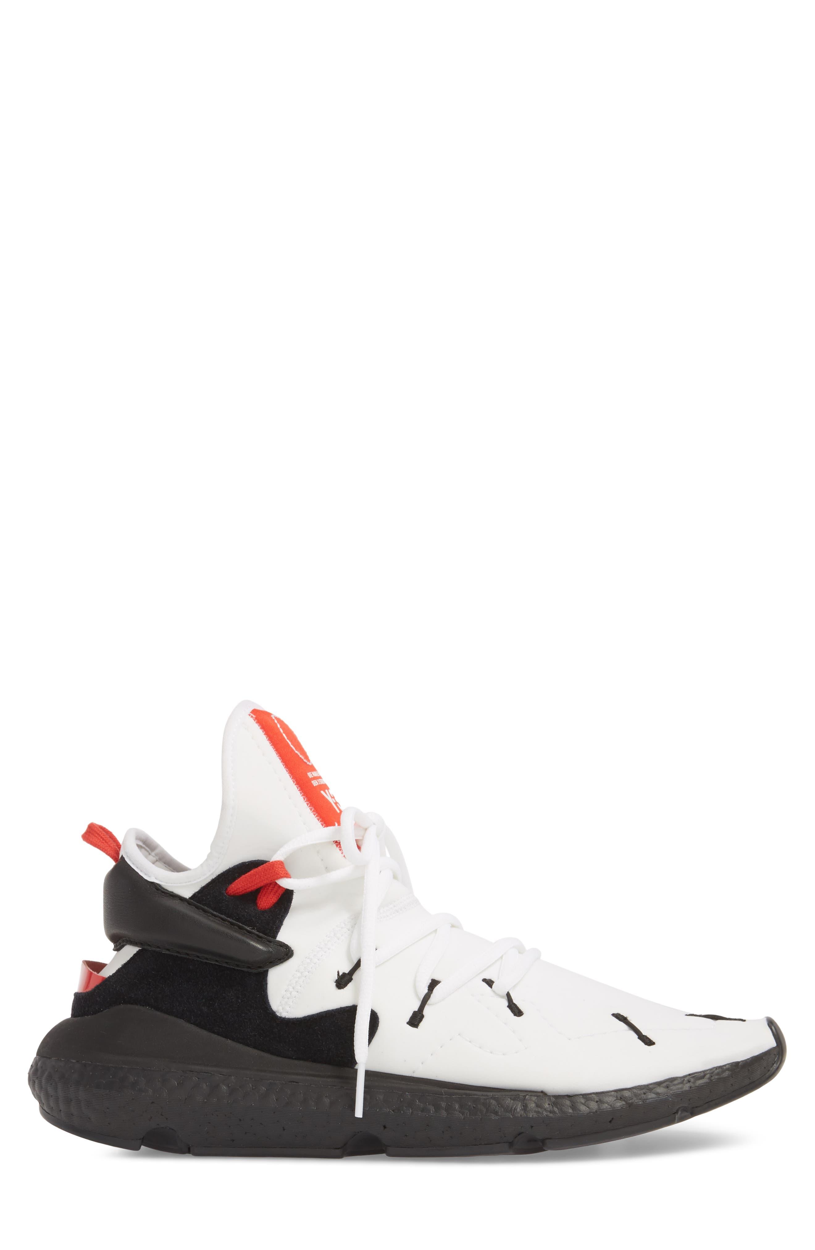 Y-3,                             x adidas Kusari II Sneaker,                             Alternate thumbnail 3, color,                             100