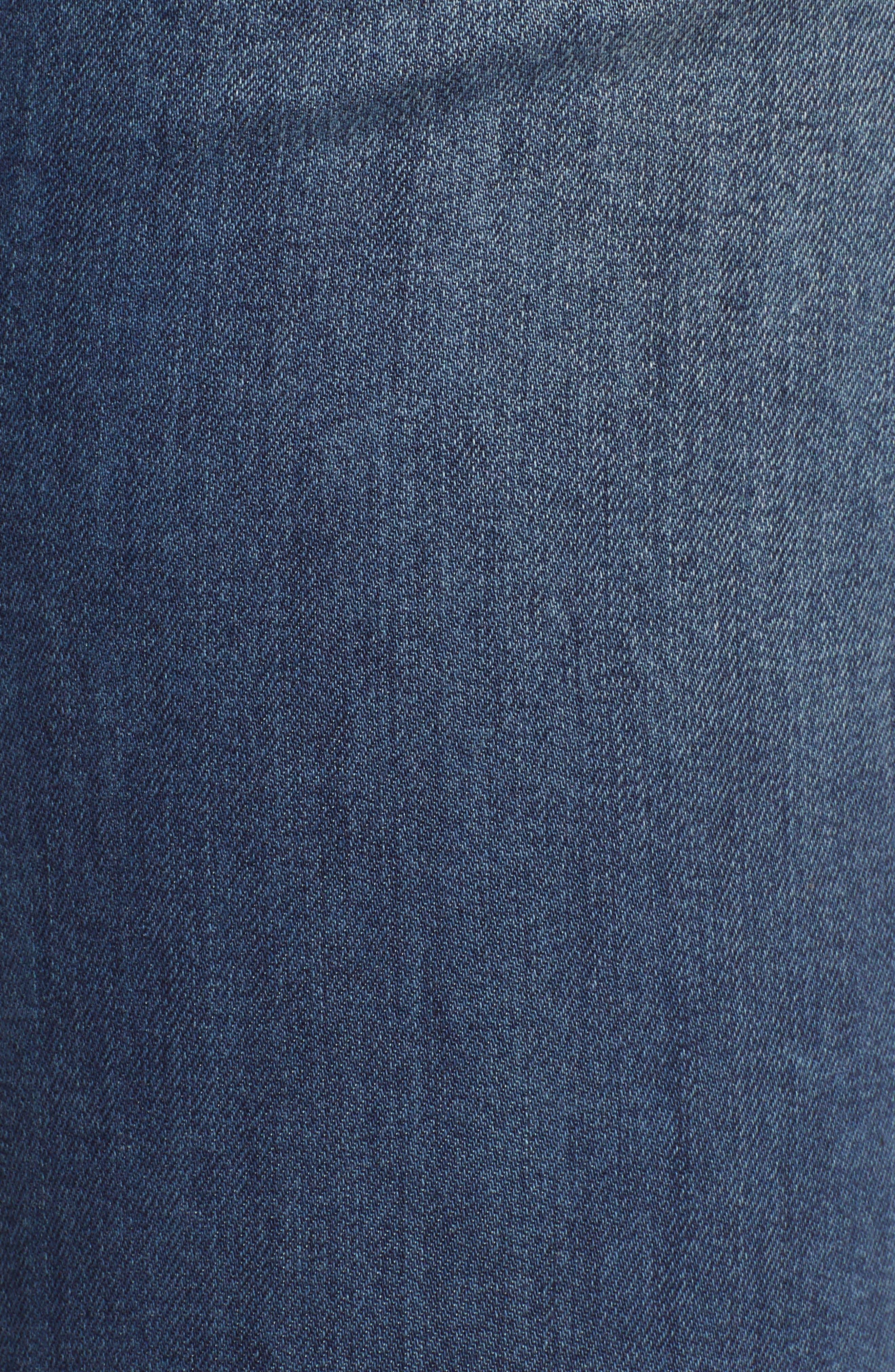 Ab-Solution High Waist Skinny Jeans,                             Alternate thumbnail 6, color,                             420