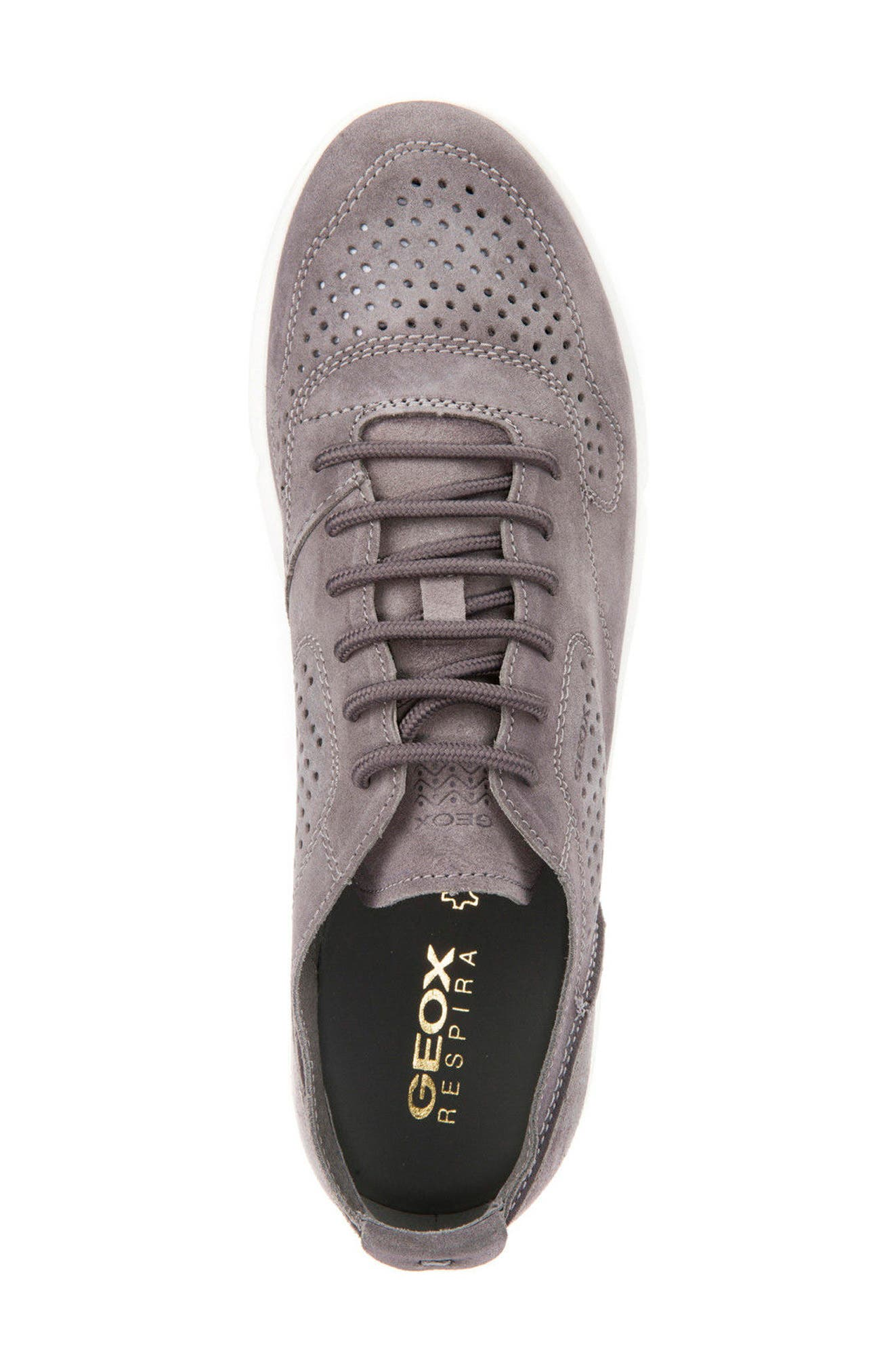 Brattley 2 Perforated Sneaker,                             Alternate thumbnail 5, color,                             020